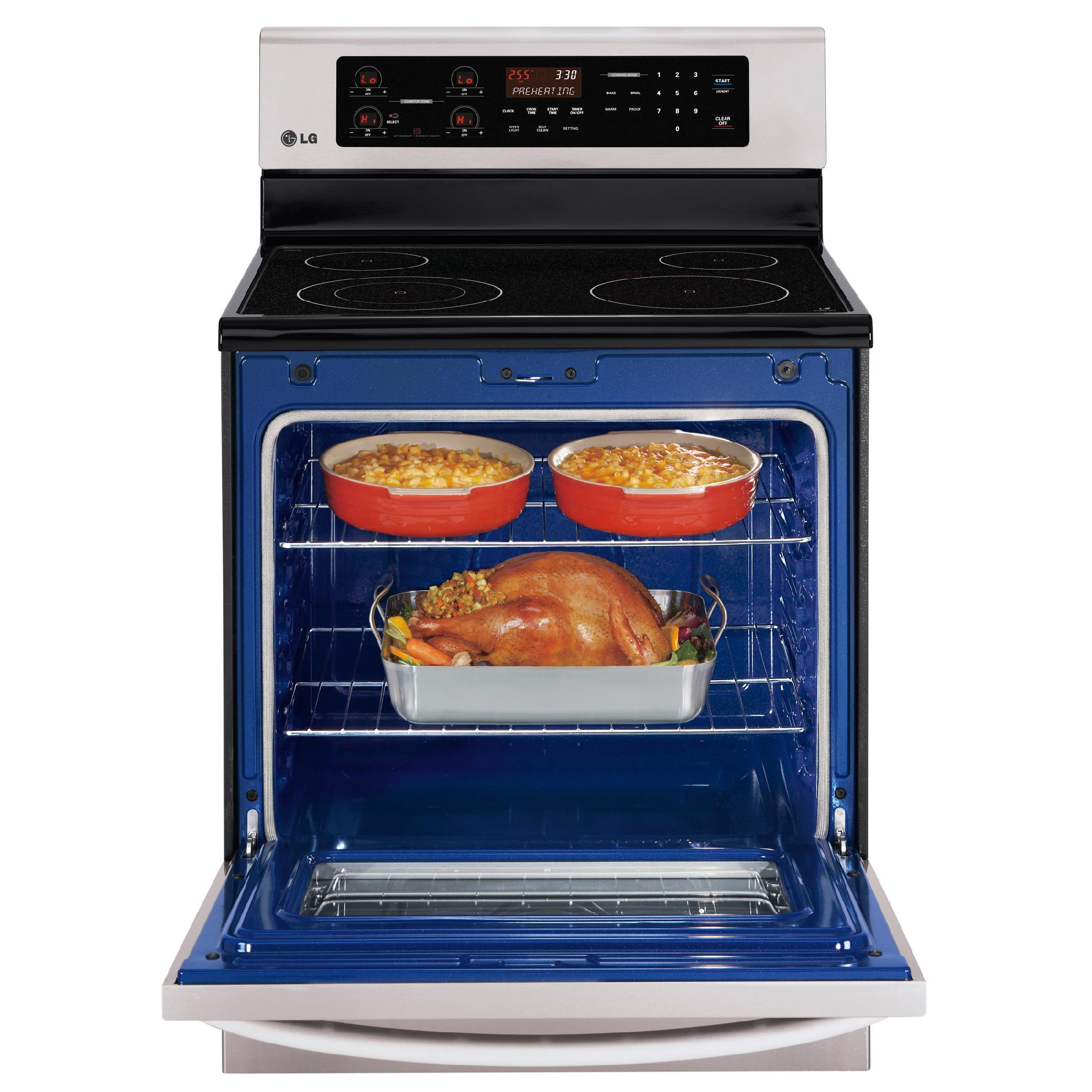LG 6.3 cu. ft. Electric Range - Stainless Steel