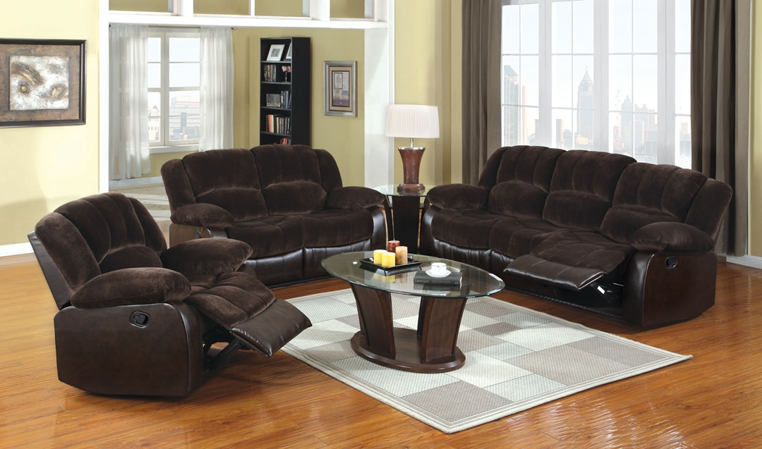 Venetian Worldwide Winchester Microfiber and Leatherette Recliner Loveset
