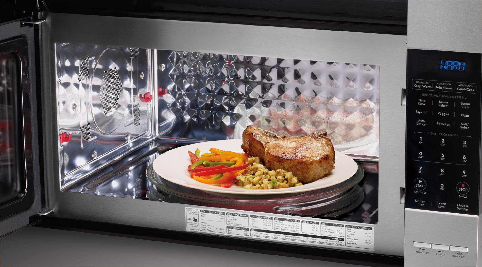 Kenmore Elite 80373 1.8 cu. ft. Over-the-Range Convection Microwave - Stainless Steel