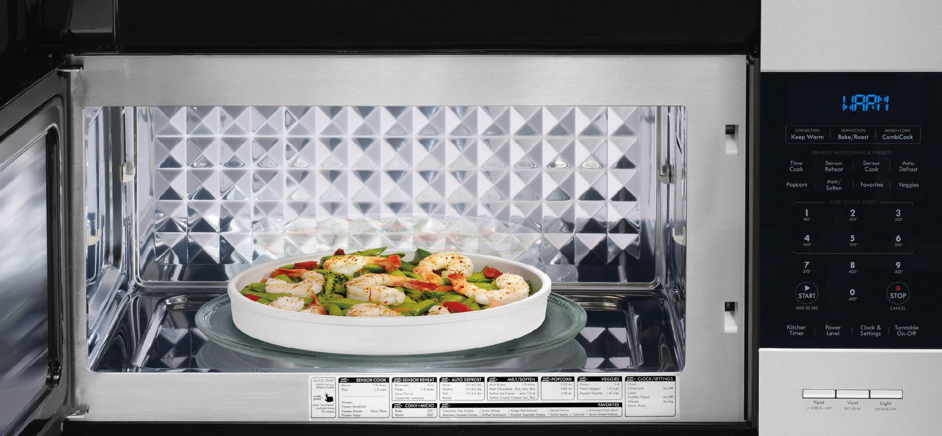 Kenmore Elite 1.5 cu ft Over-the-Range Microwave