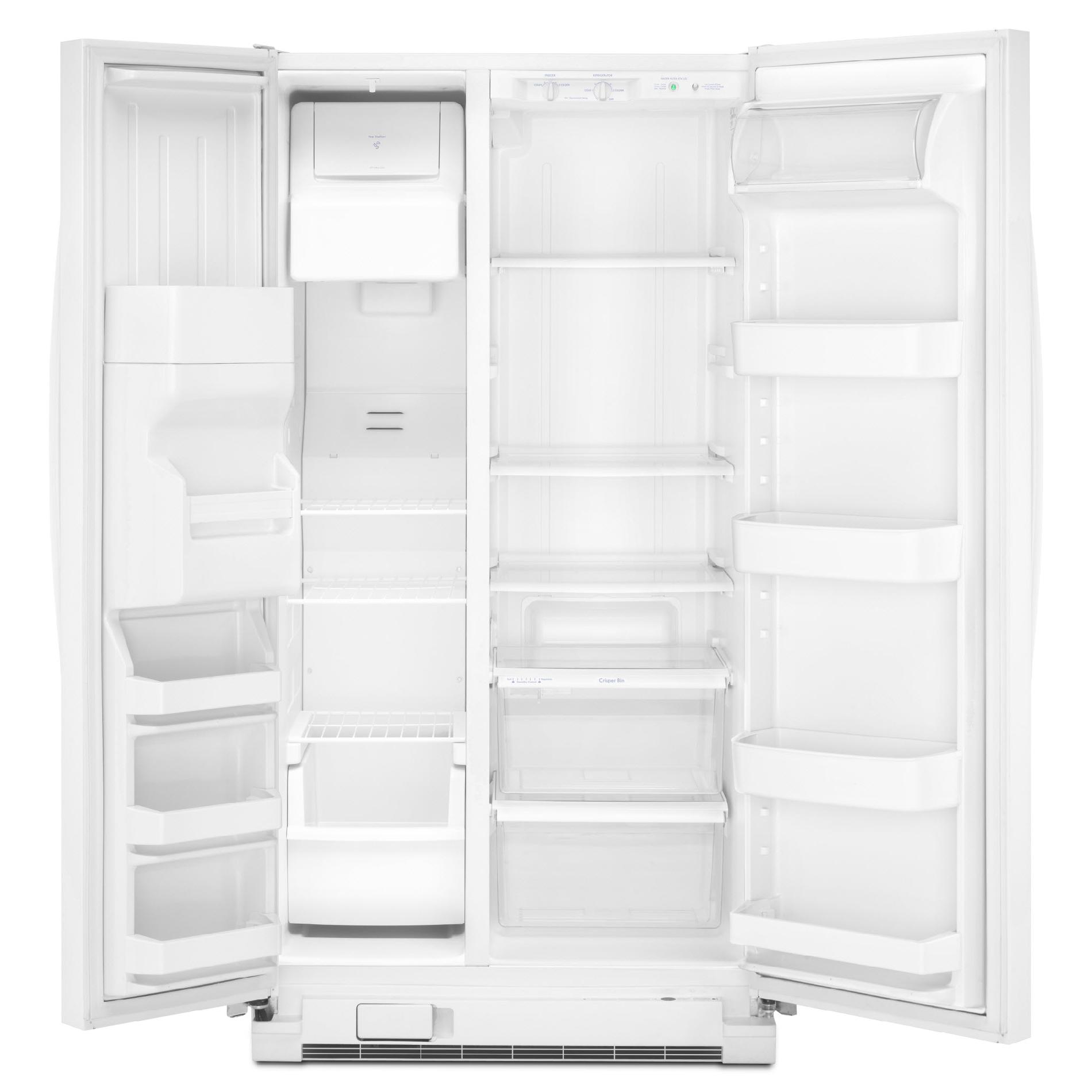 Kenmore 25.4 cu. ft. Side-by-Side Refrigerator - White