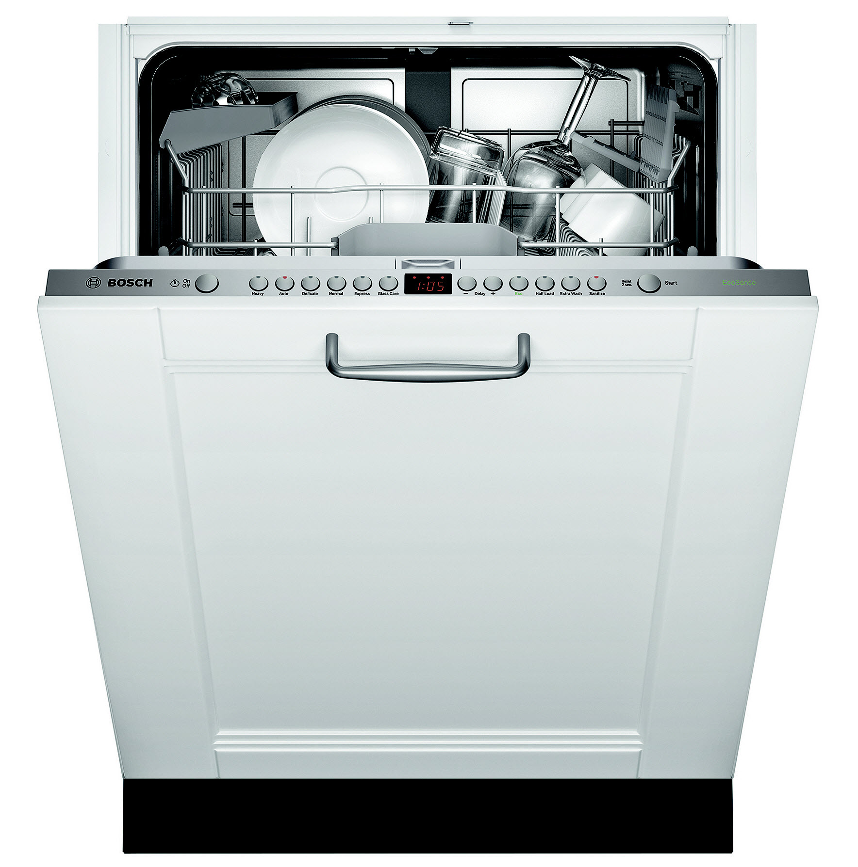 "Bosch 24"" Built-in Dishwasher ADA-Compliant - Panel Ready"