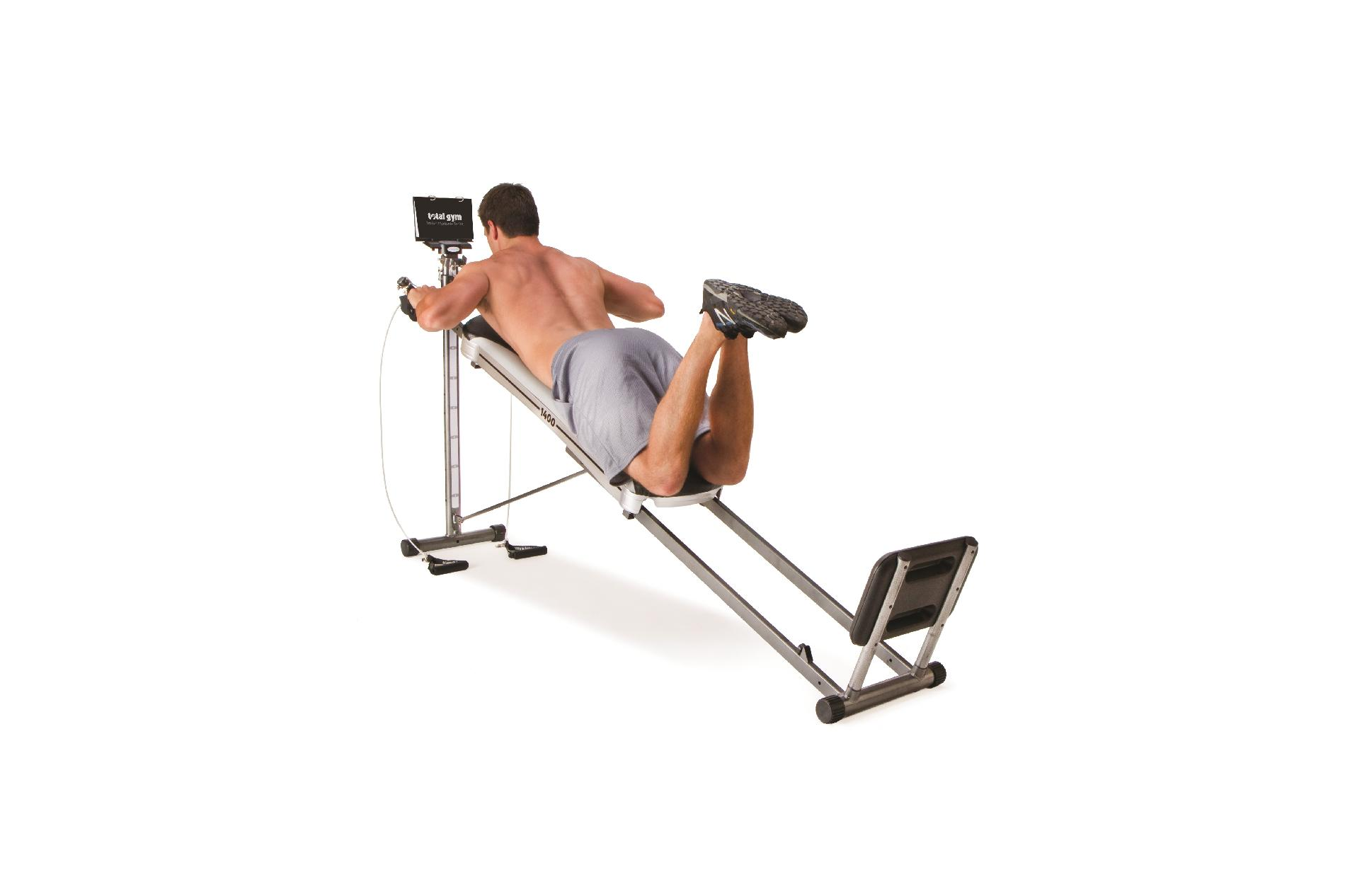Total Fitness Total Gym 1400 Exercise System for Toning and Strengthening