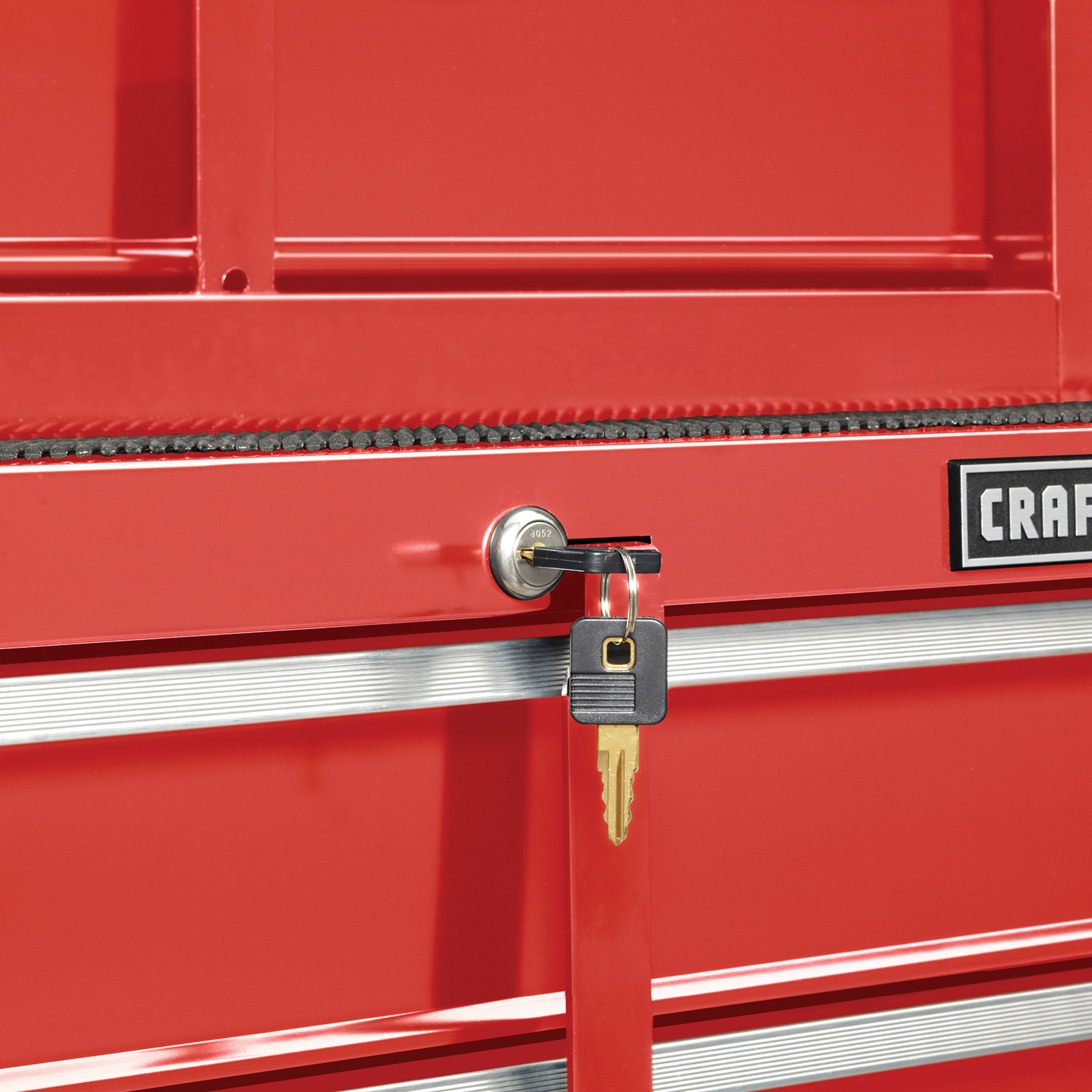 Craftsman 26 in. 4-Drawer Standard Duty Ball Bearing Rolling Cabinet - Red
