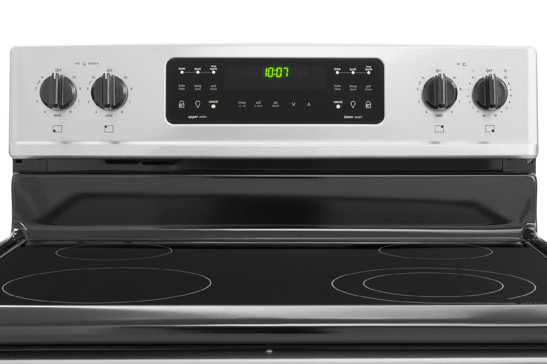 Frigidaire Gallery Gallery 6.64 cu. ft. Double-Oven Electric Range - Stainless Steel