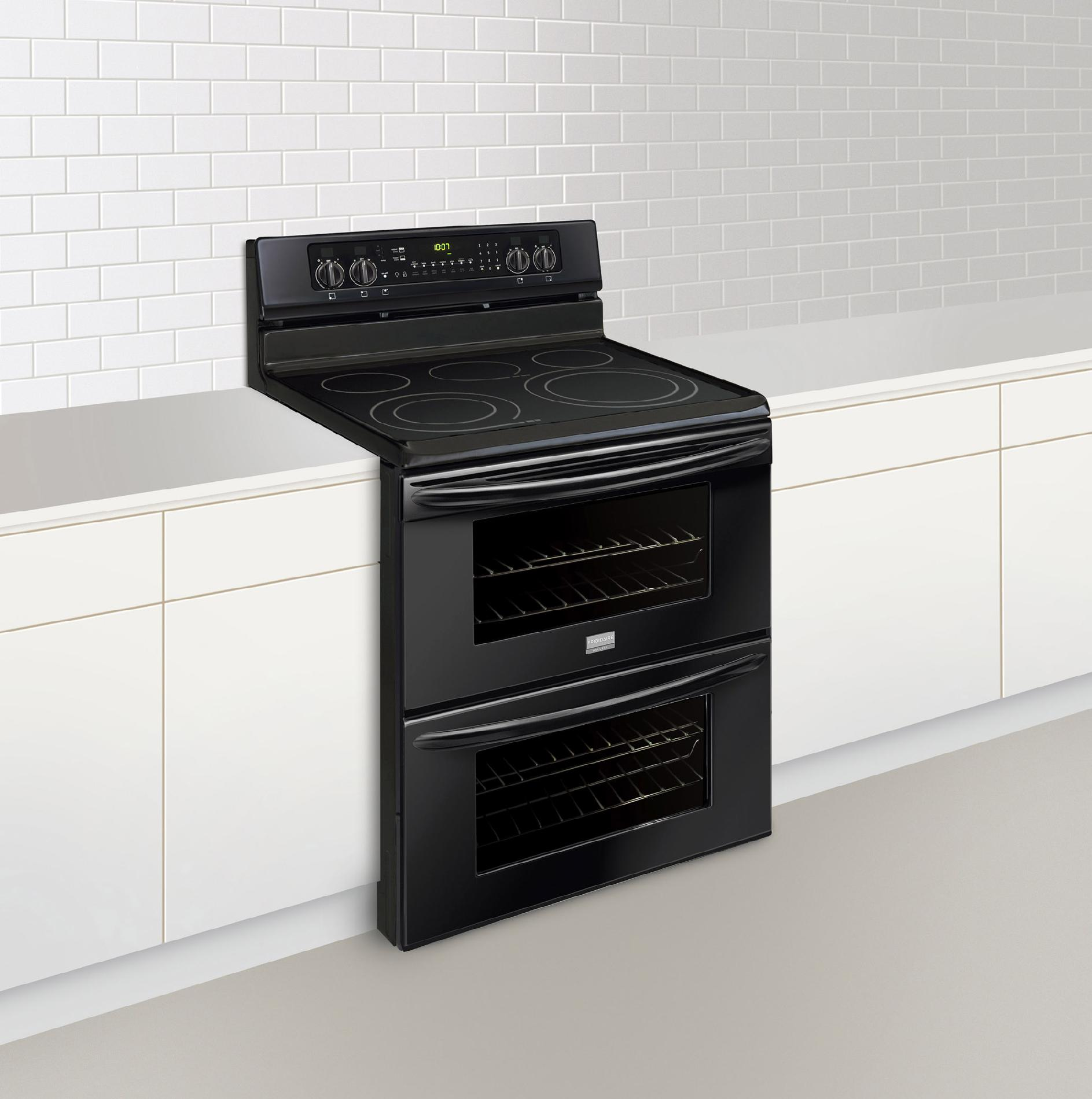 Frigidaire Gallery 7 cu. ft. Double-Oven Electric Range - Black