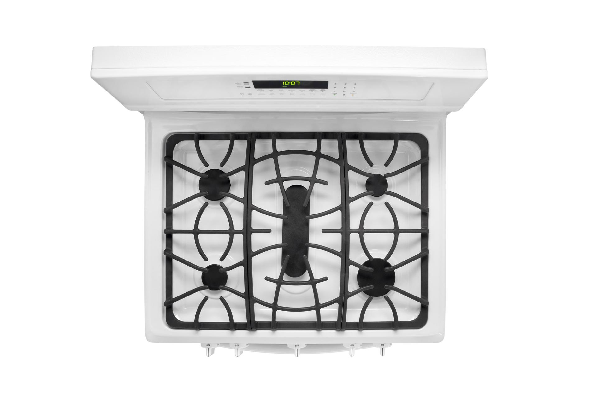 Frigidaire Gallery 5.8 cu. ft. Double-Oven Gas Range - White