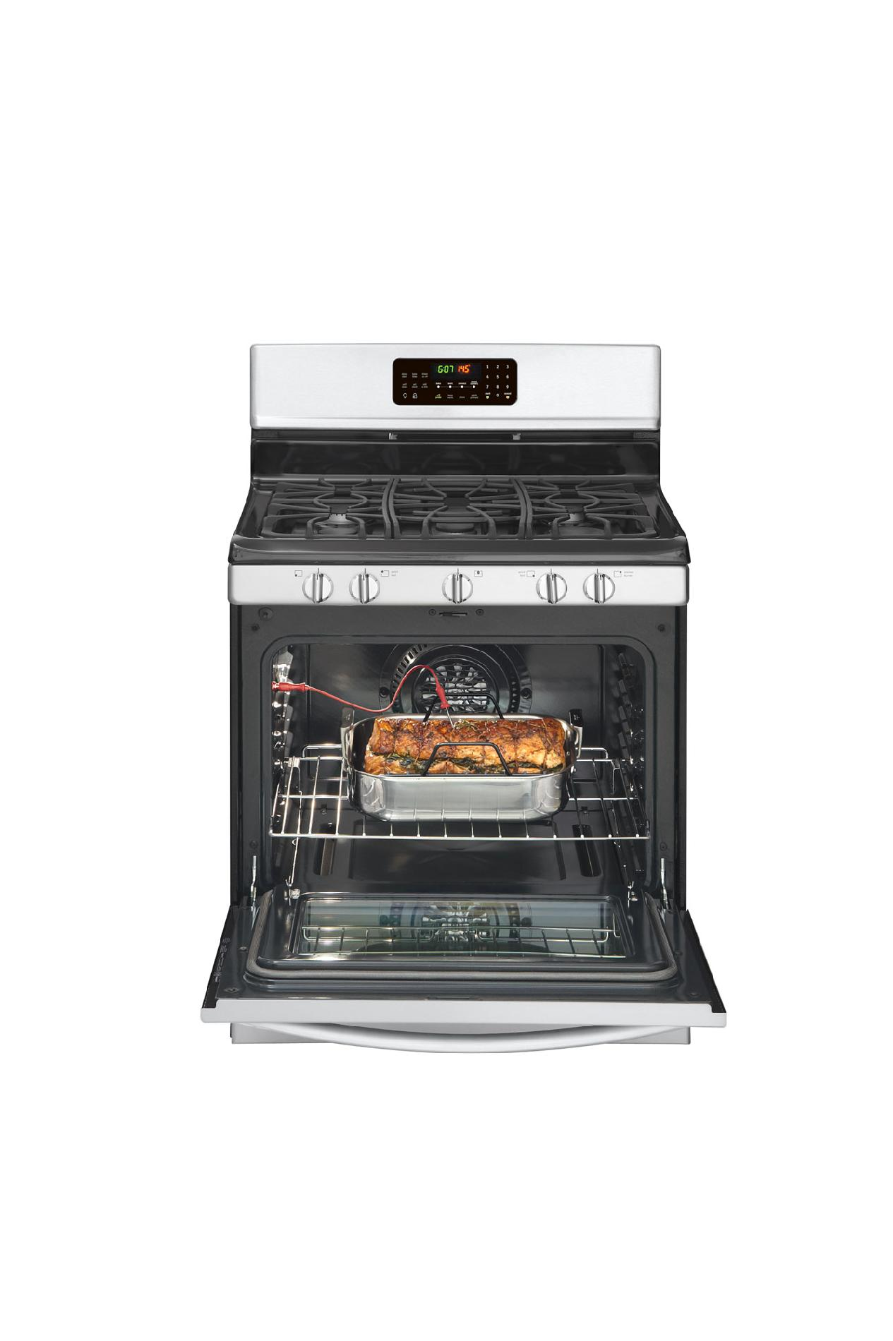 Frigidaire Gallery Gallery 5.0 cu. ft. Freestanding Gas Range w/ Effortless™ Temperature Probe - Stainless Steel
