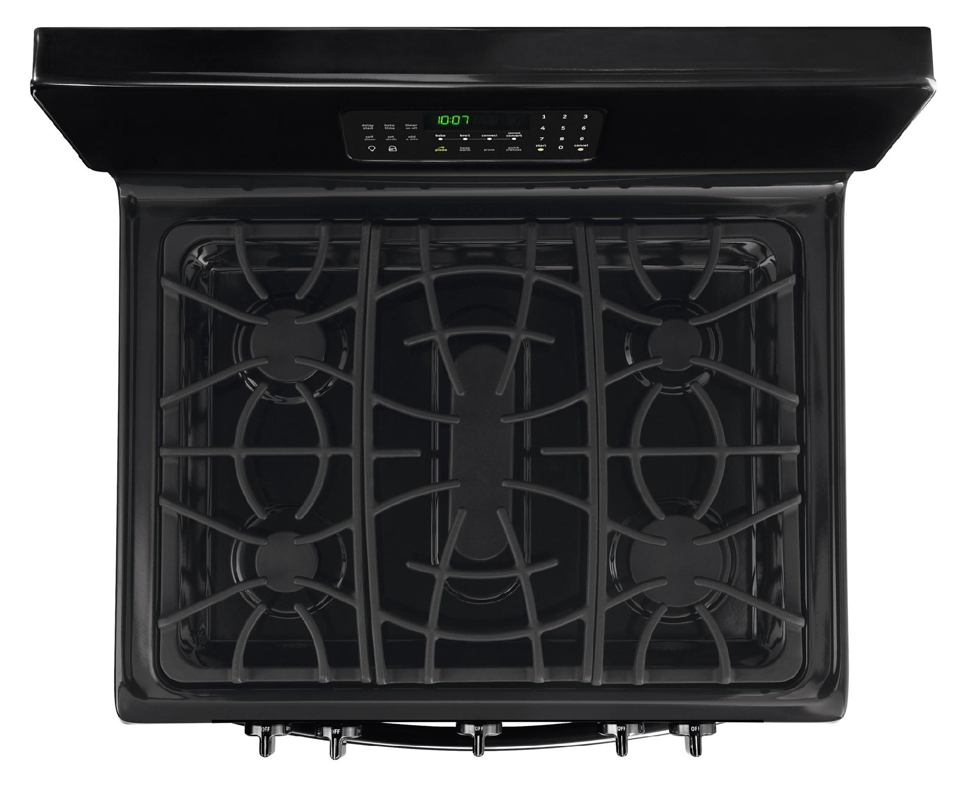 Frigidaire Gallery 5.0 cu. ft. Freestanding Gas Range w/ Effortless™ Temperature Probe - Black