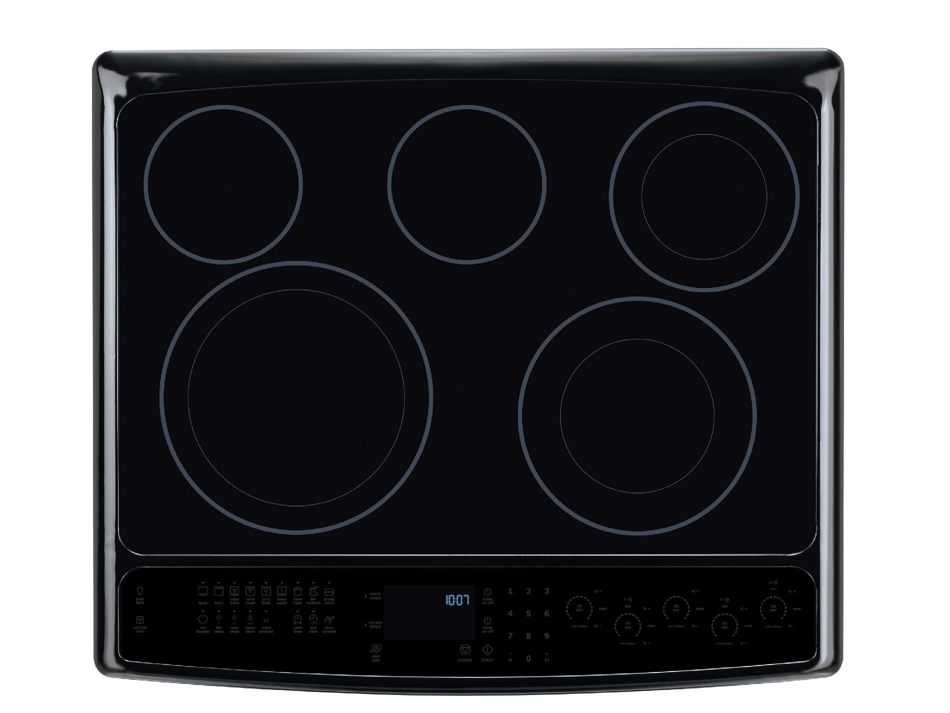 """Electrolux 30"""" Slide-In Electric Range w/ IQ-Touch™ Controls - Black"""