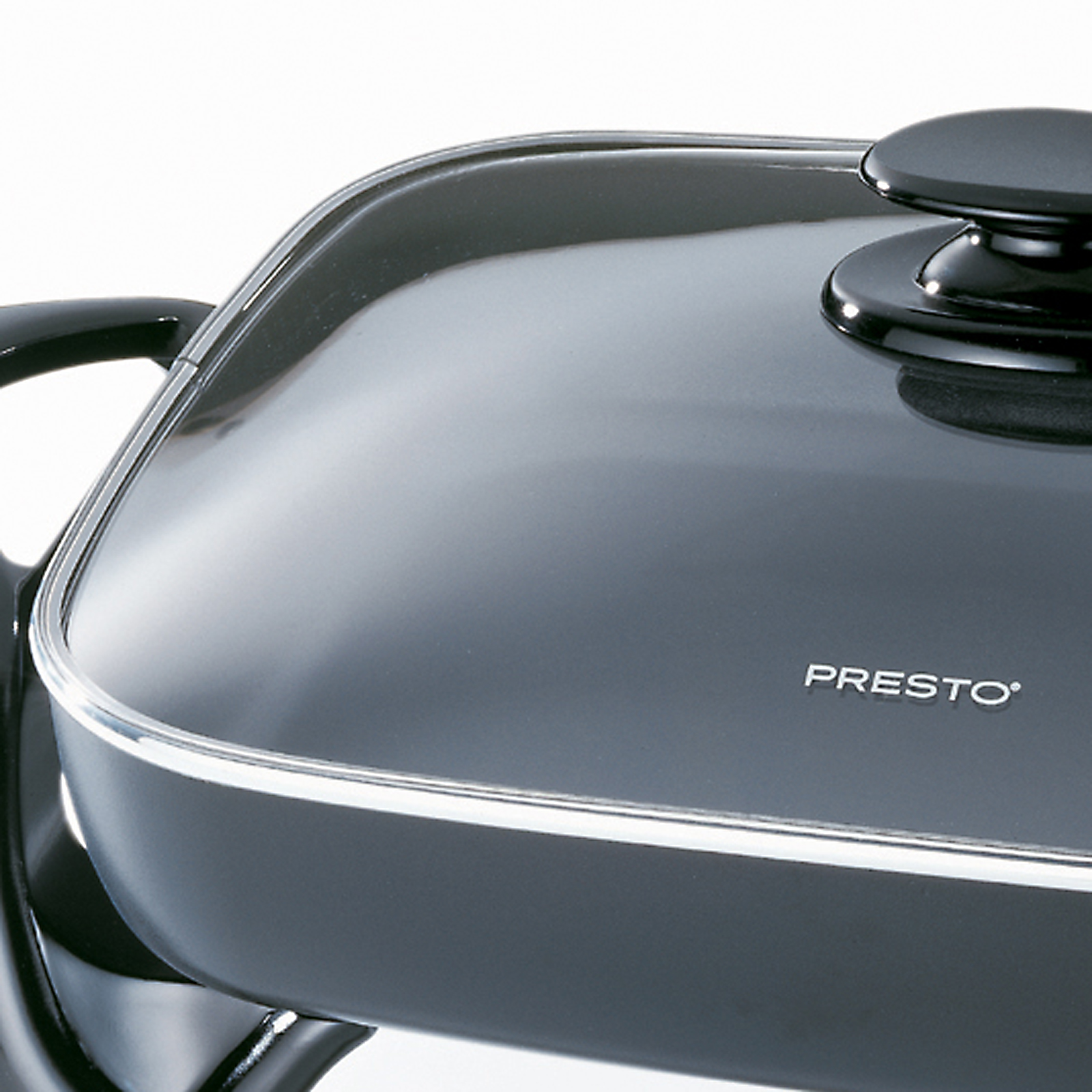 "National Presto 16"" Electric Skillet with Glass Cover"