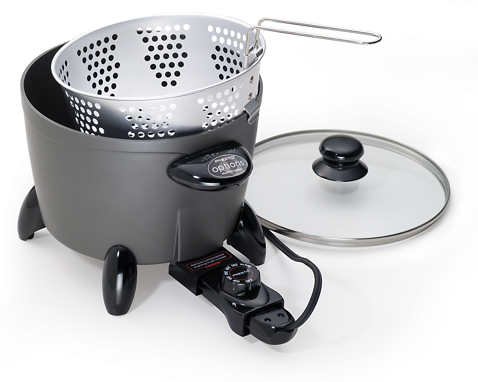 Presto 6 qt. Options® Multi-Cooker/Steamer