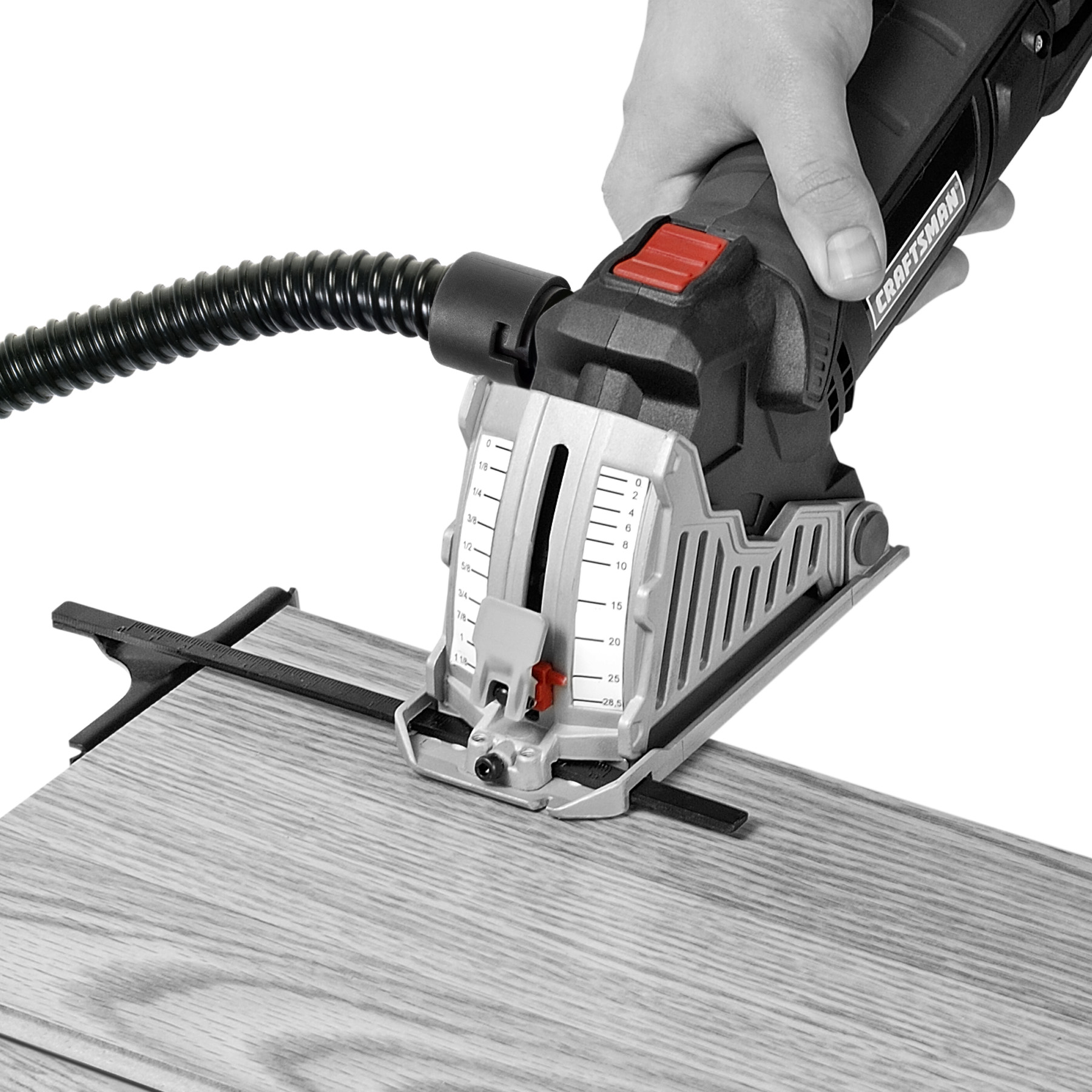 "Craftsman 3-1/2"" TRAK-CUT ™ Circular Saw with Miter Guide Base"