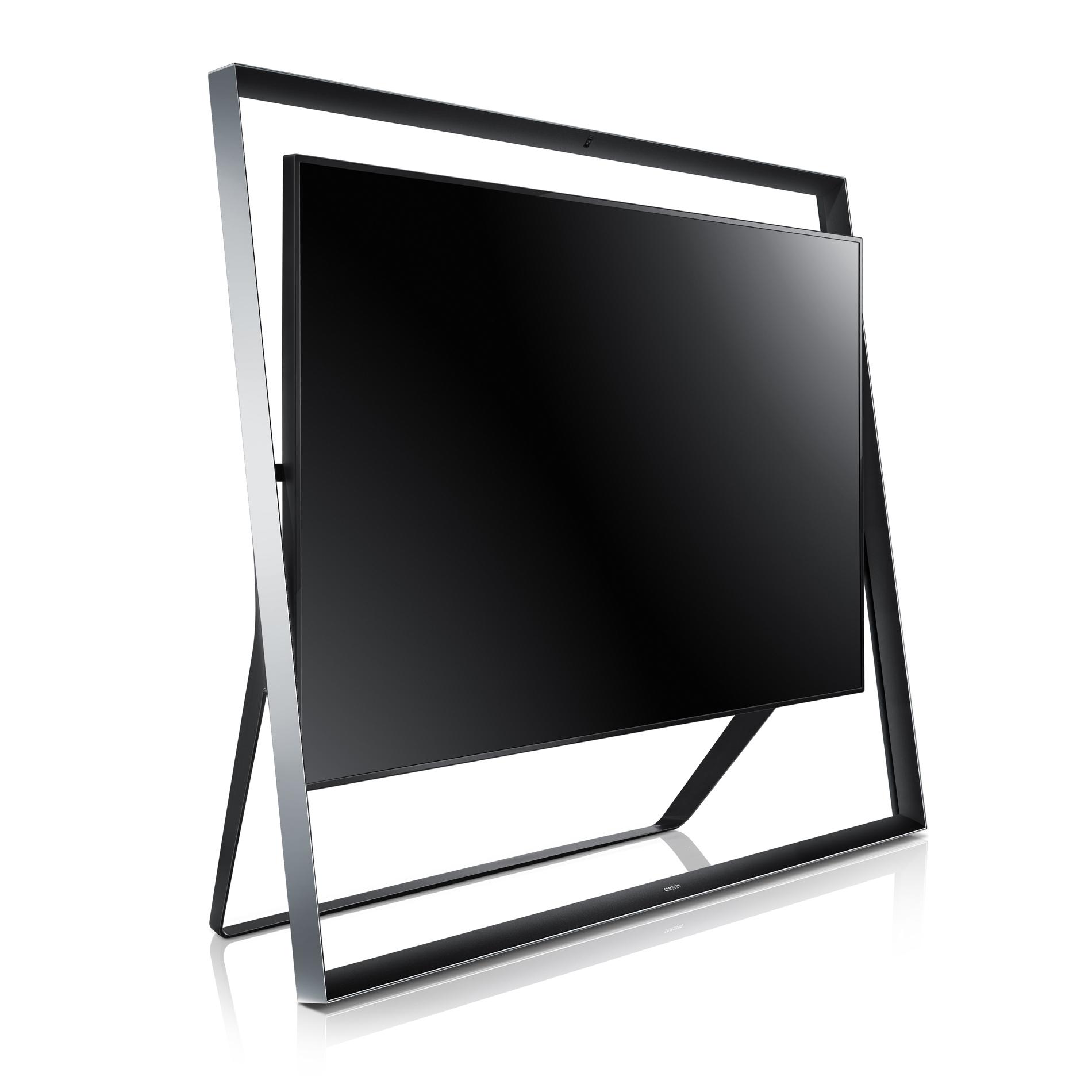 """Samsung 85"""" Class 1080p 3D Ultra HDTV UN85S9"""