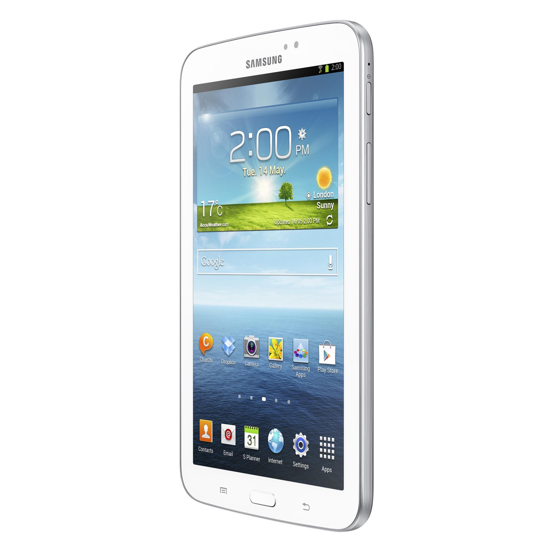 Samsung Tablet Galaxy Tab3 7.0 SM-T210RZWYXAR White