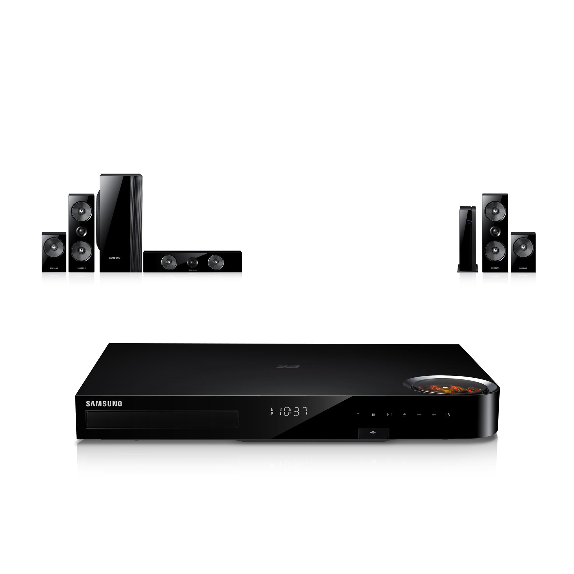 Samsung 5.1-Channel Home Theater System w/ Vacuum Tube Amp Technology HT-F6500W