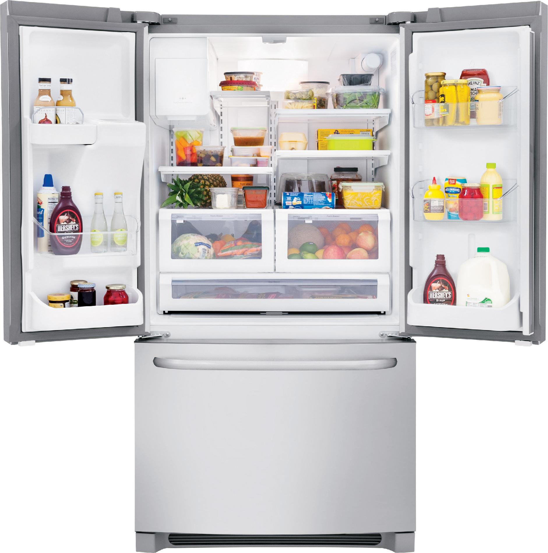 Frigidaire 26.7 cu. ft. French Door Refrigerator - Stainless Steel