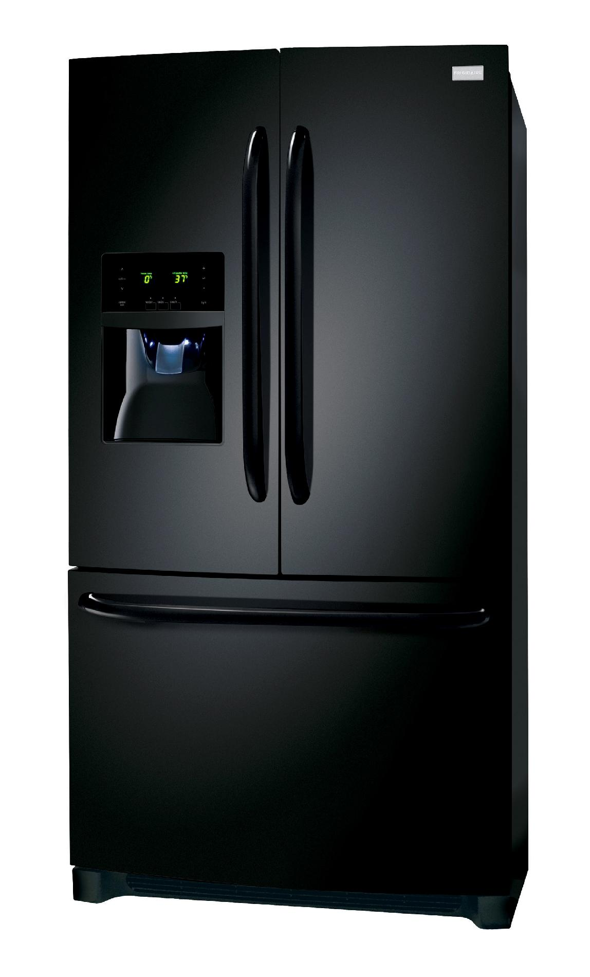 Frigidaire 26.7 cu. ft. French Door Refrigerator - Ebony Black