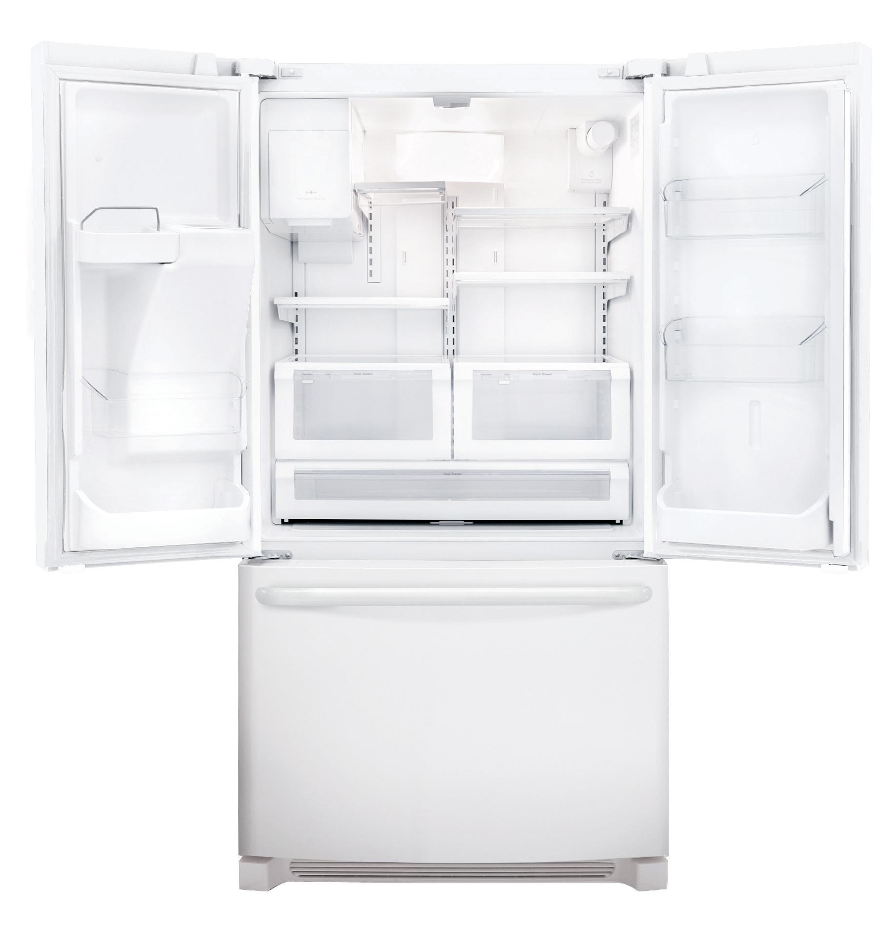 Frigidaire 26.7 cu. ft. French Door Refrigerator - Pearl White