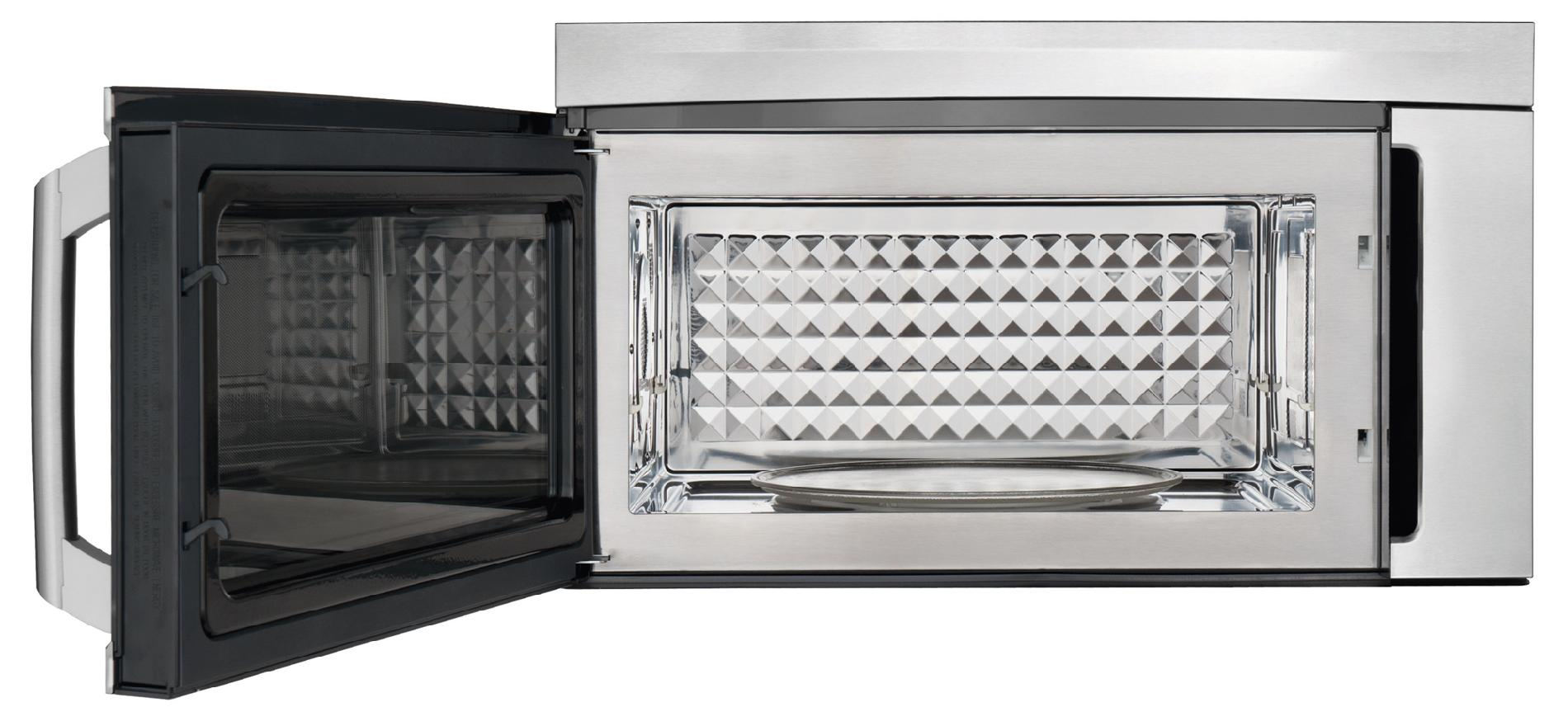 Electrolux 1.8 cu. ft. Over-the-Range Convection Microwave Oven w/ Bottom Controls - Stainless Steel