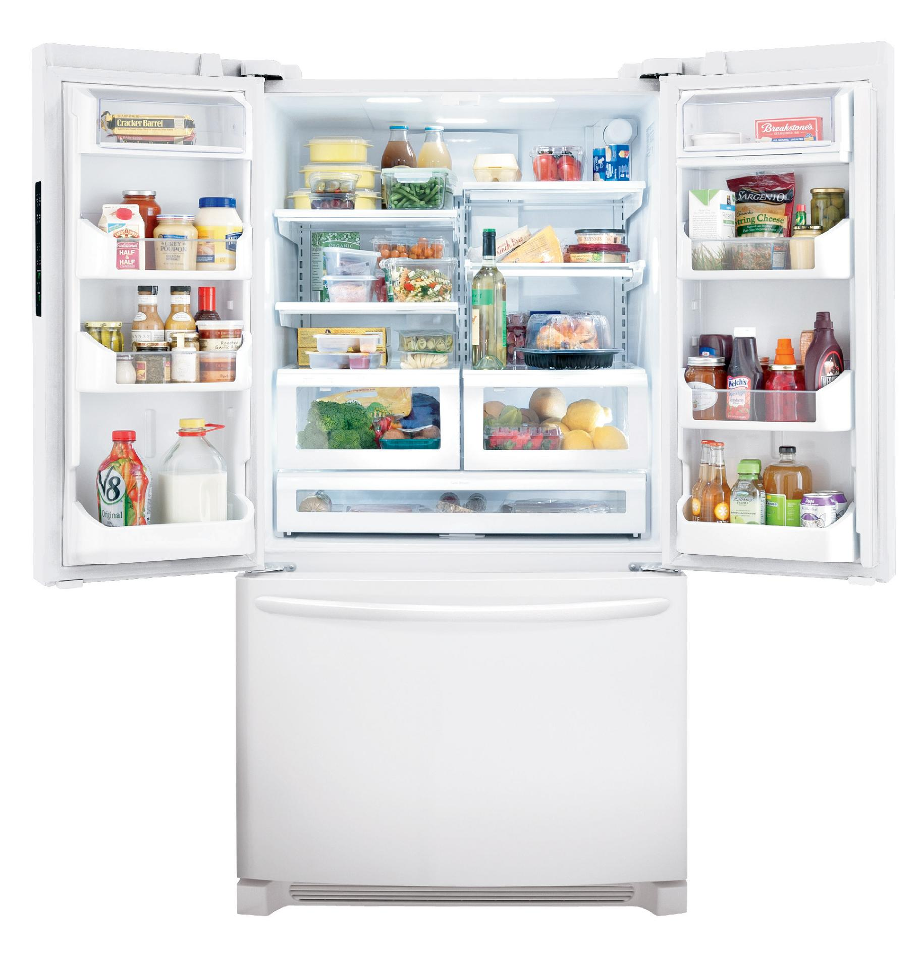 Frigidaire Gallery Gallery 27.8 cu. ft. French Door Refrigerator - Pearl White
