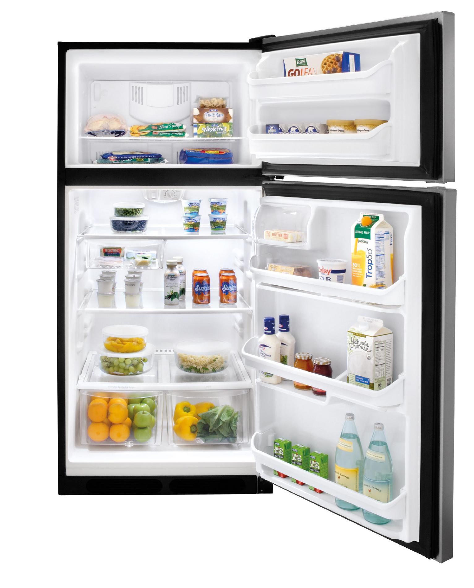 Frigidaire 18.3 cu. ft. Top-Freezer Refrigerator - Stainless Steel