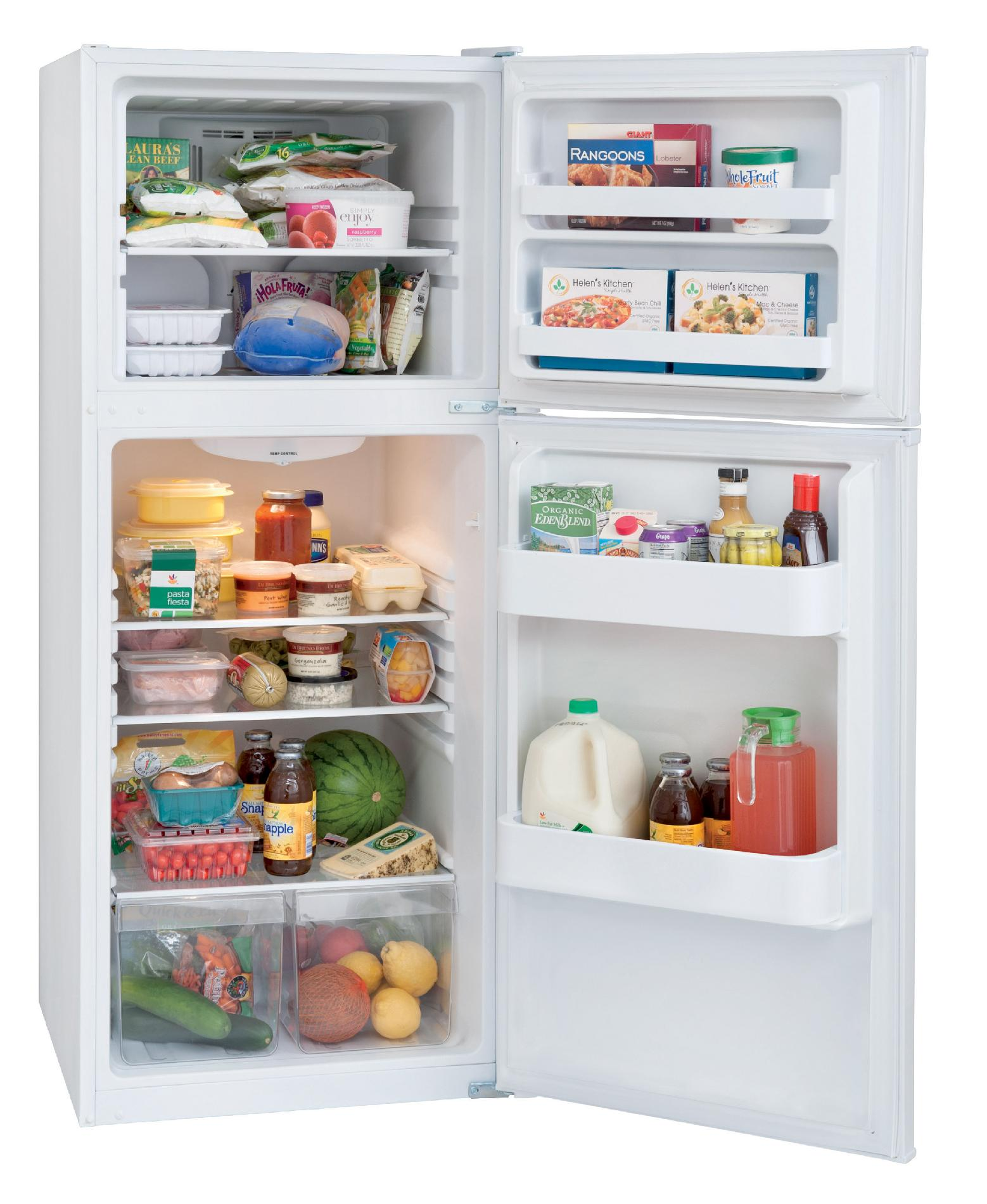 Frigidaire 10.0 cu. ft. Top-Freezer Refrigerator - White