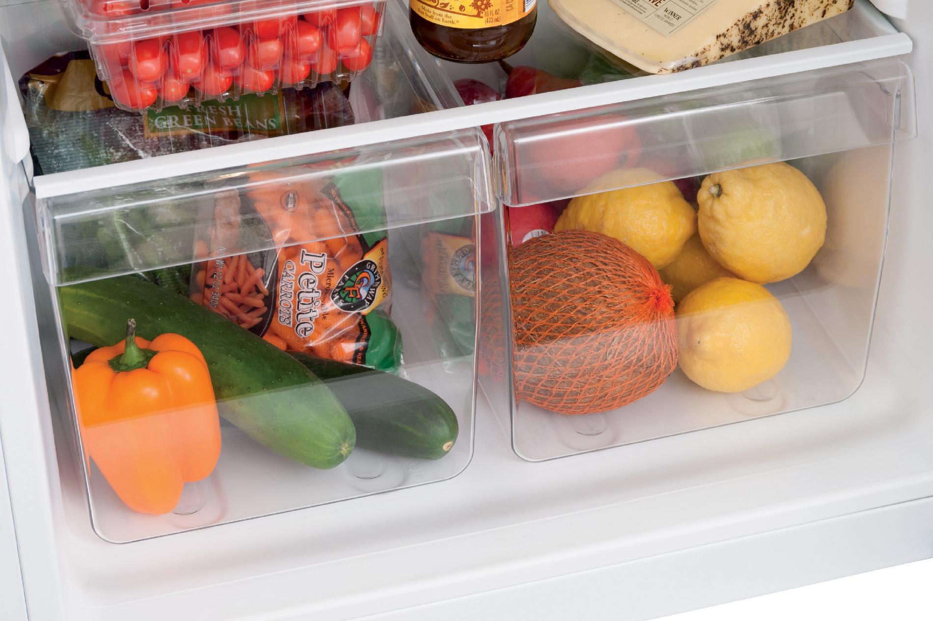 Frigidaire 10.0 cu. ft. Top-Freezer Refrigerator - Silver Mist