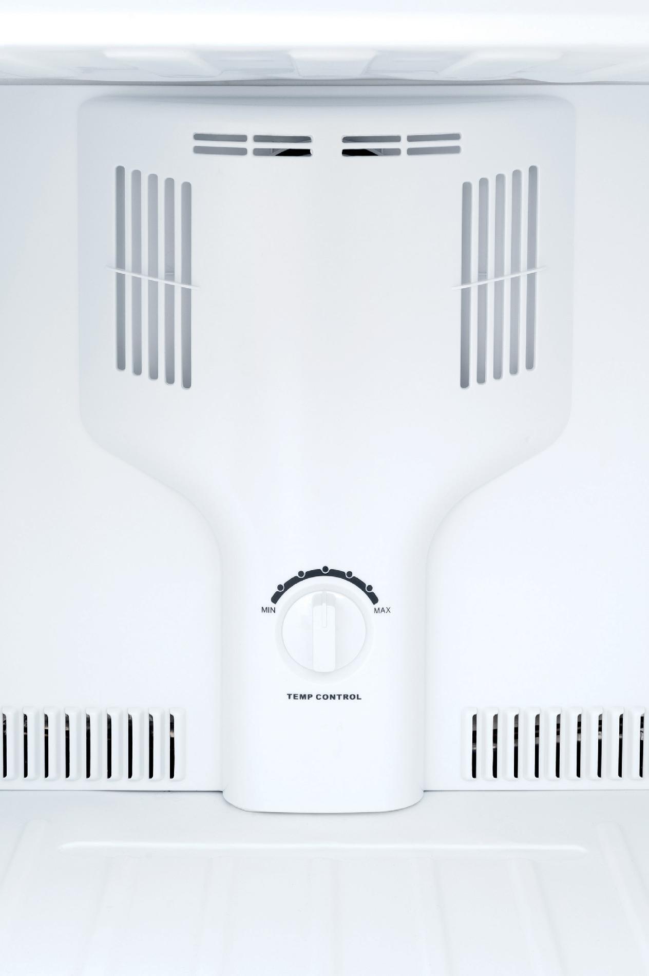 Frigidaire 10.0 cu. ft. Top-Freezer Refrigerator - Black