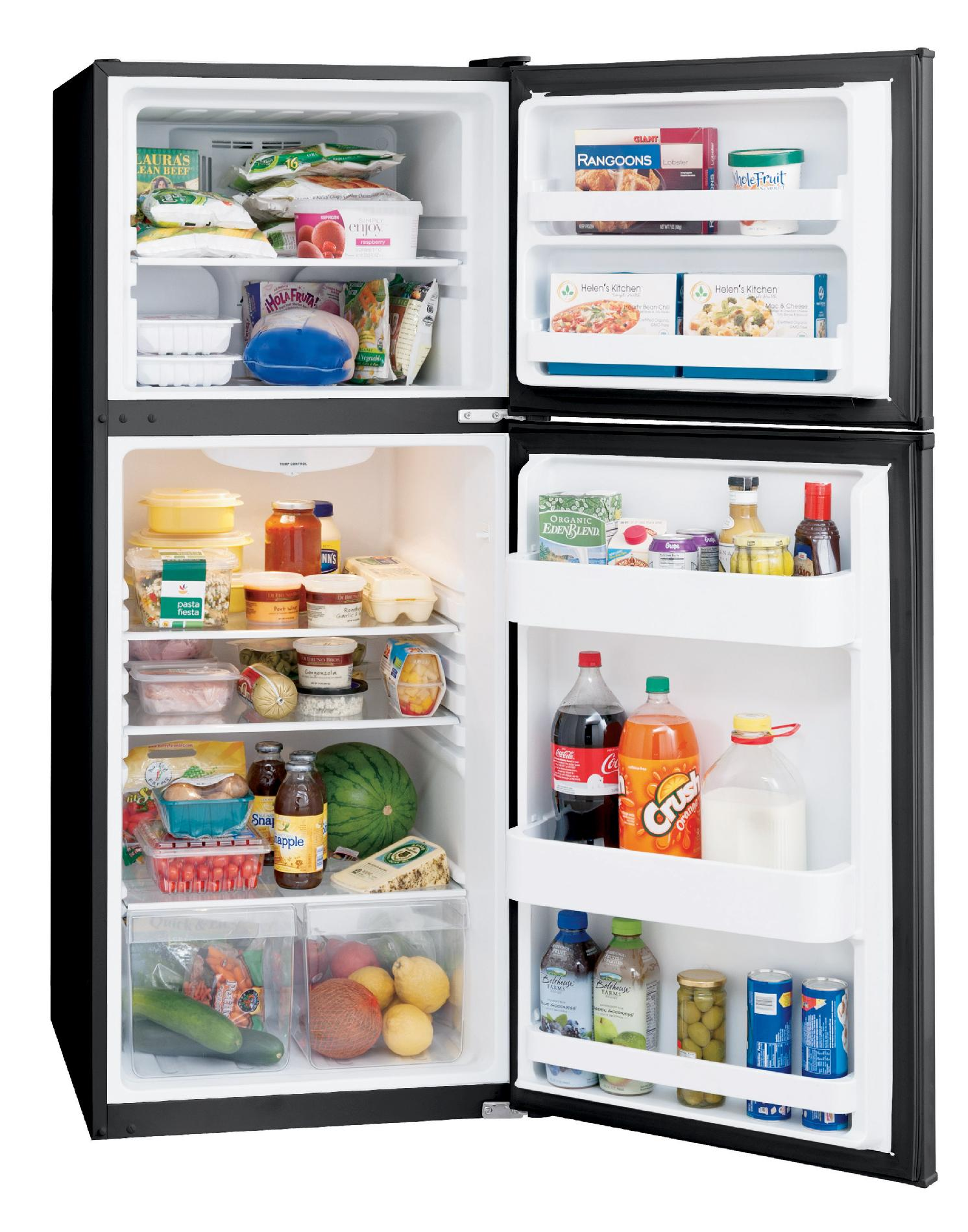 Frigidaire 11.5 cu. ft. Top-Freezer Refrigerator - Black