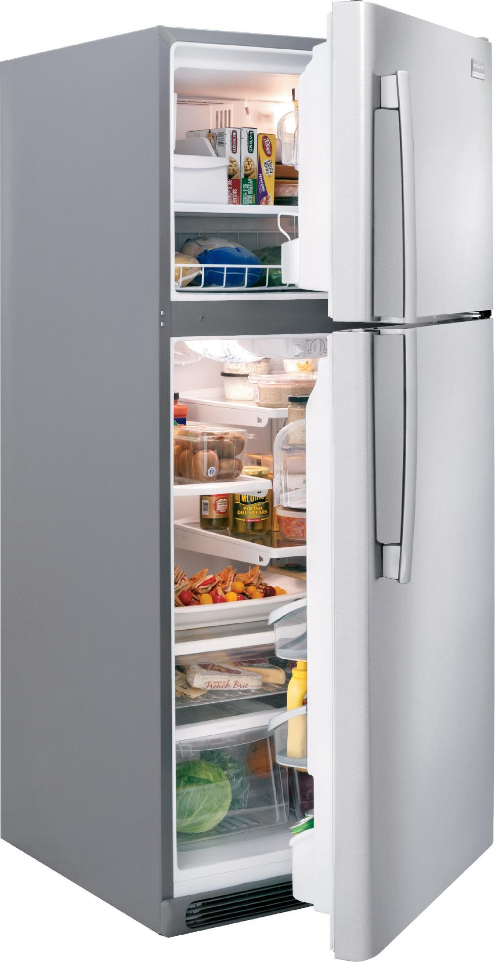 Frigidaire Professional 18.3 cu. ft. Top-Freezer Refrigerator - Stainless Steel
