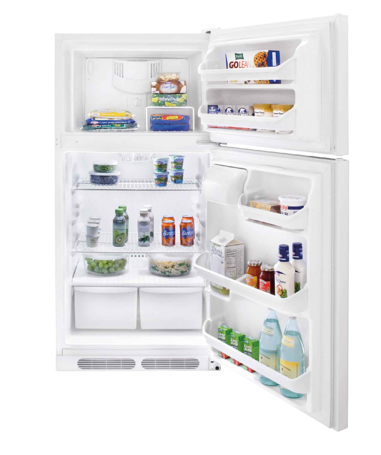 Frigidaire 14.8 cu. ft. Top-Freezer Refrigerator - White