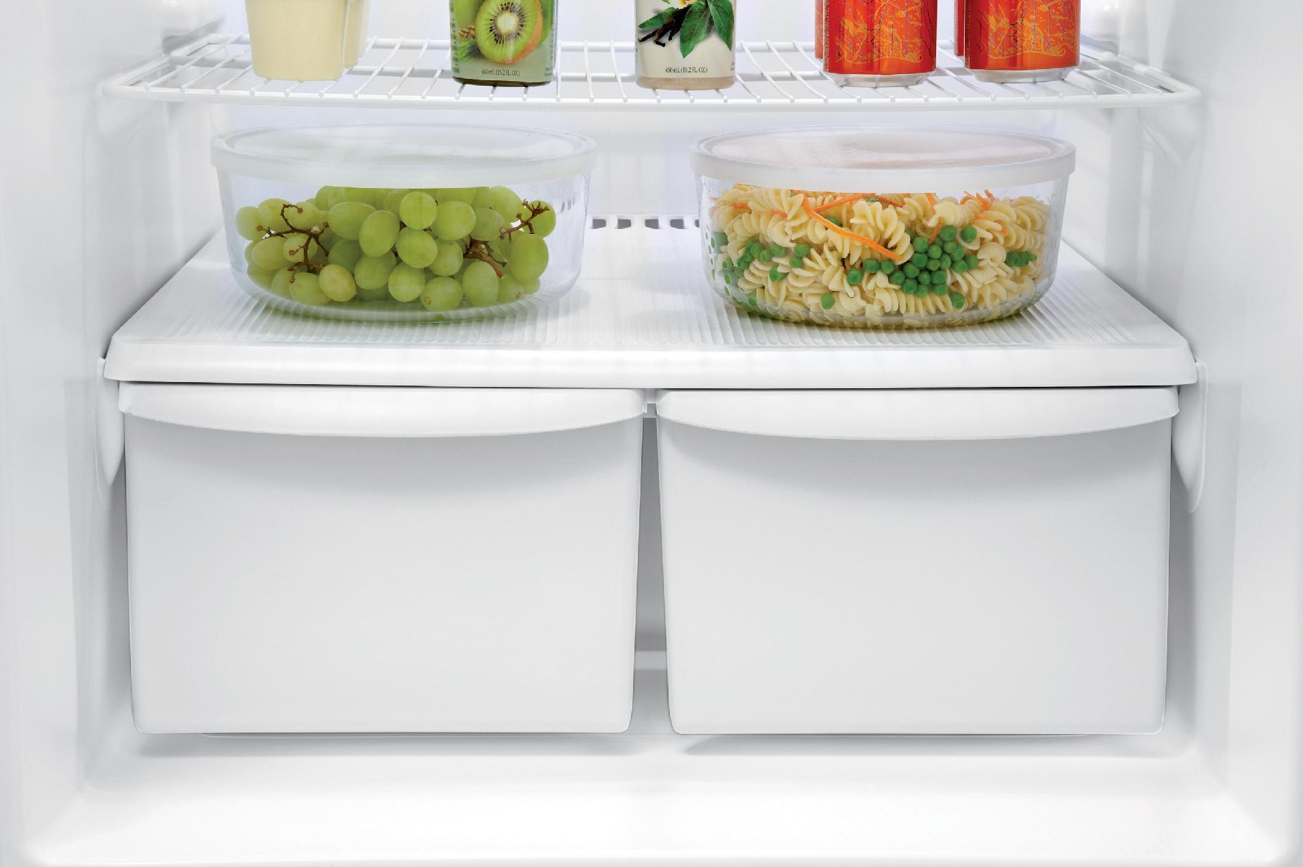 Frigidaire 14.8 cu. ft. Top-Freezer Refrigerator - White