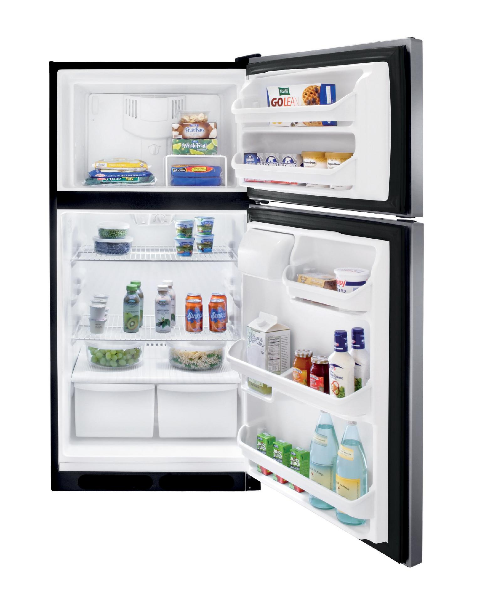 Frigidaire 14.8 cu. ft. Top-Freezer Refrigerator - Stainless Steel