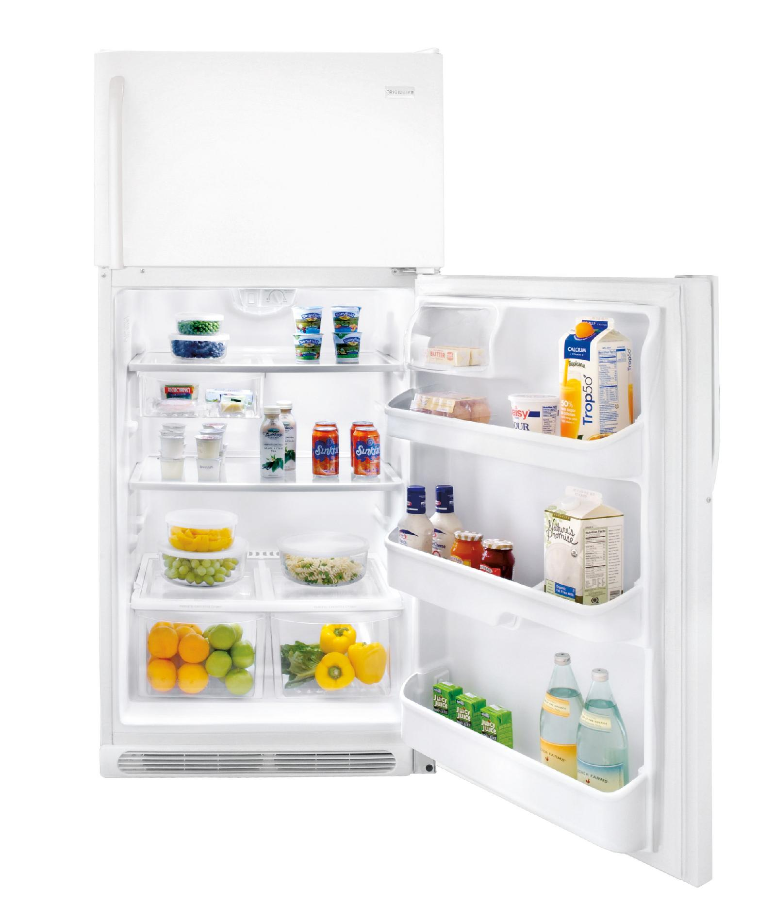 Frigidaire 18.2 cu. ft. Top-Freezer Refrigerator - White
