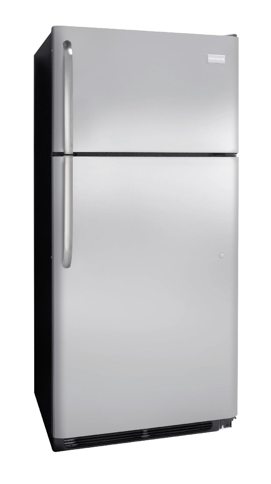 Frigidaire 18.2 cu. ft. Top-Freezer Refrigerator - Stainless Steel
