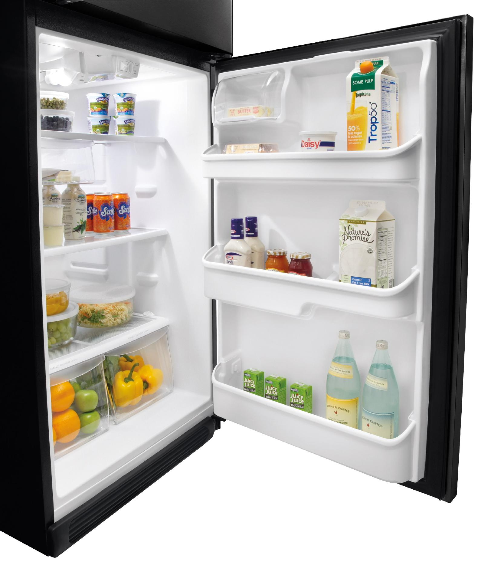 Frigidaire 18.2 cu. ft. Top-Freezer Refrigerator - Black