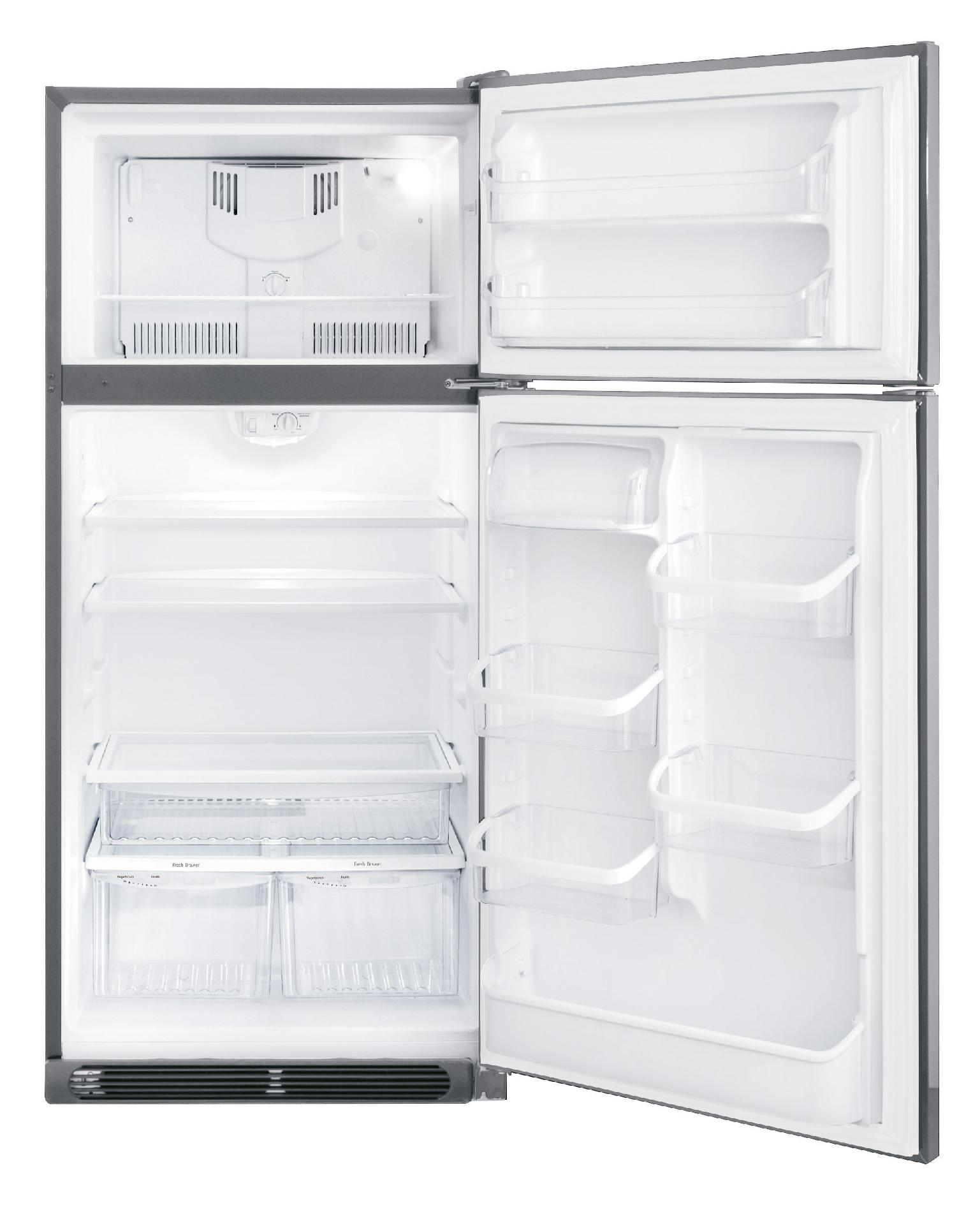 Frigidaire Gallery Gallery 18.3 cu. ft. Top-Freezer Refrigerator - Stainless Steel