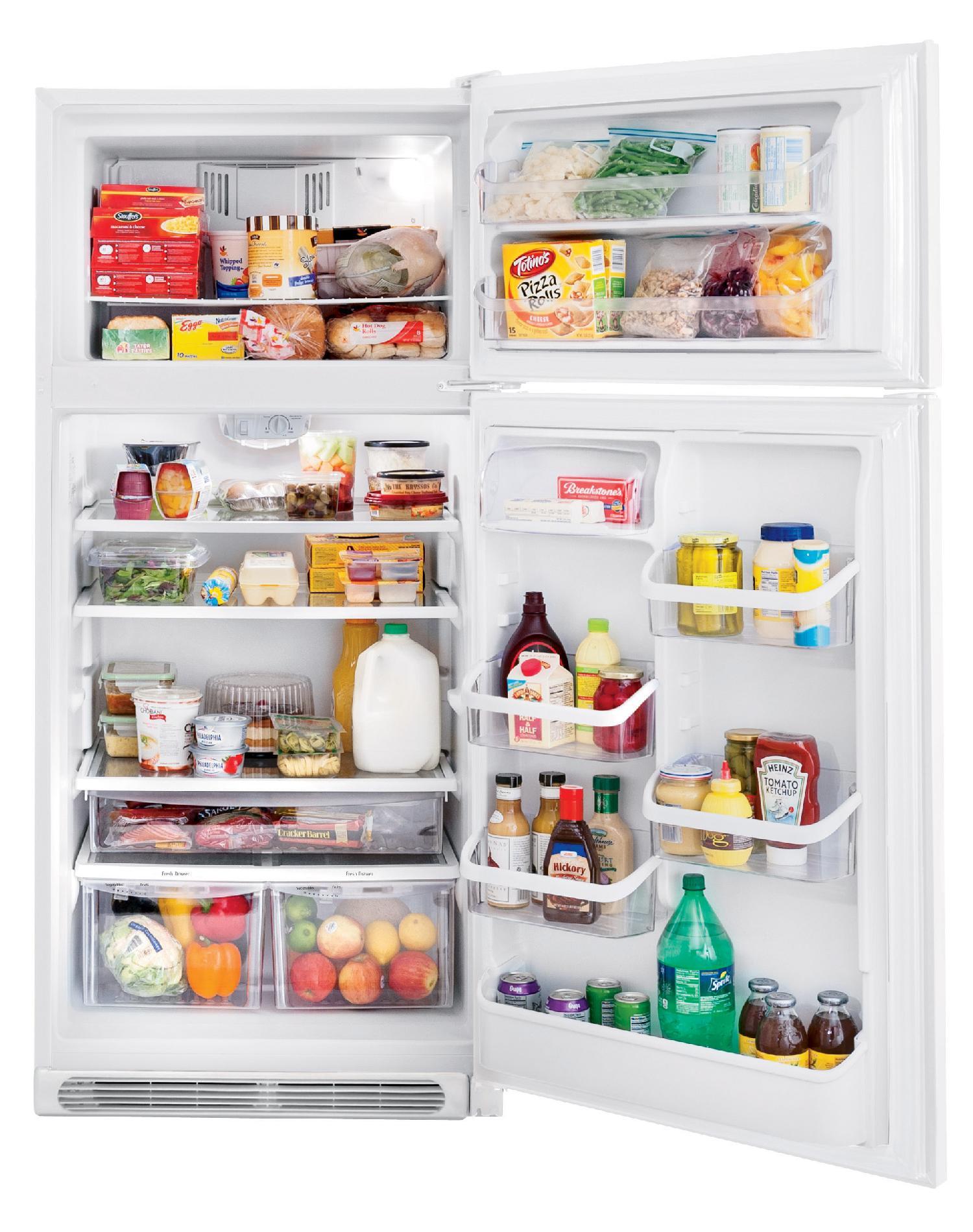 Frigidaire Gallery Gallery 18.3 cu. ft. Top-Freezer Refrigerator - Pearl White