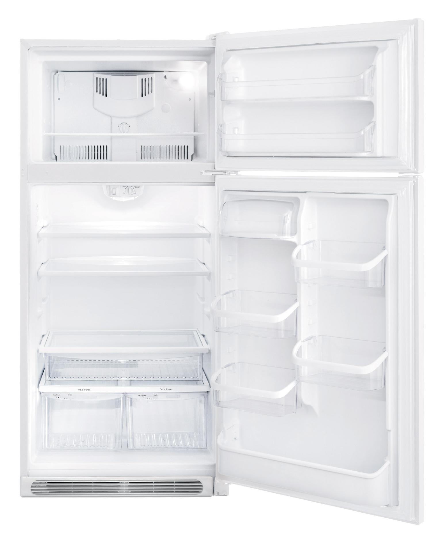 Frigidaire Gallery Gallery 18.3 cu. ft. Top-Freezer Refrigerator - Pearl White