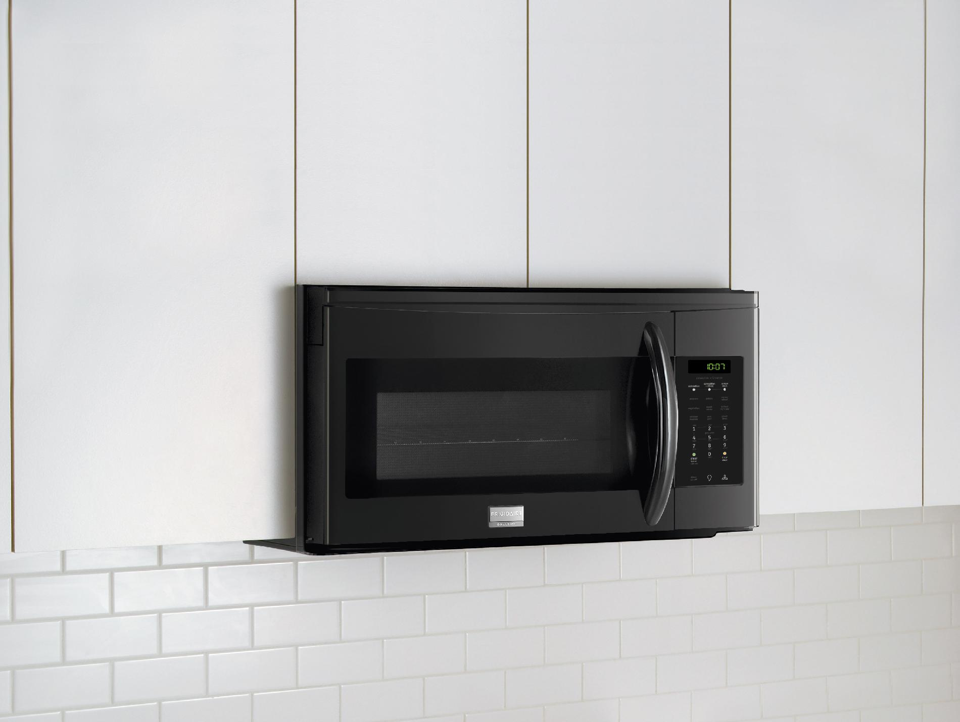 Frigidaire FGMV153CLB Gallery 1.5 cu. ft. Over-the-Range Microwave w/ Convection - Black