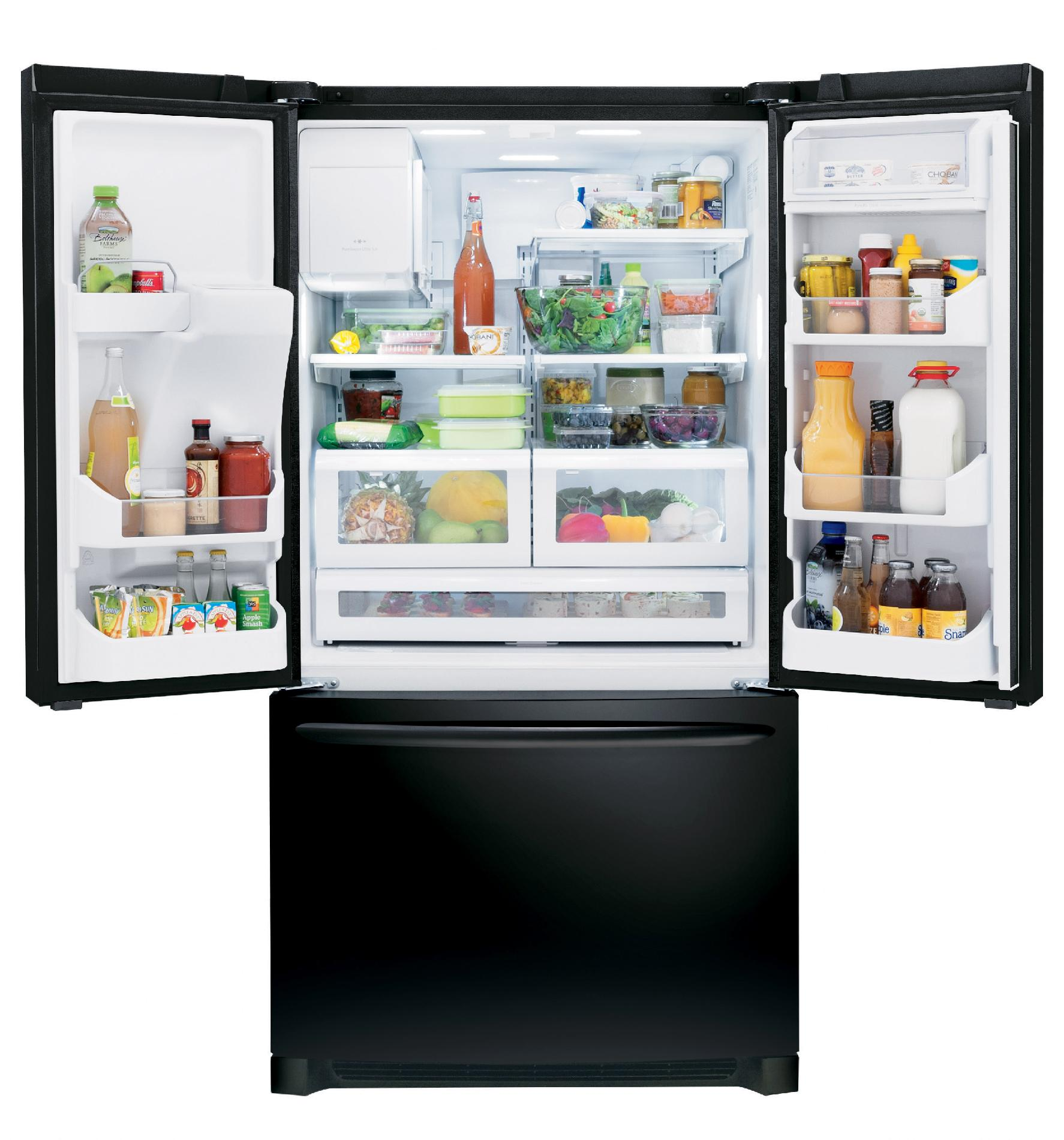 Frigidaire Gallery FGHB2866PE Gallery 27.9 cu. ft. French Door Refrigerator - Ebony Black