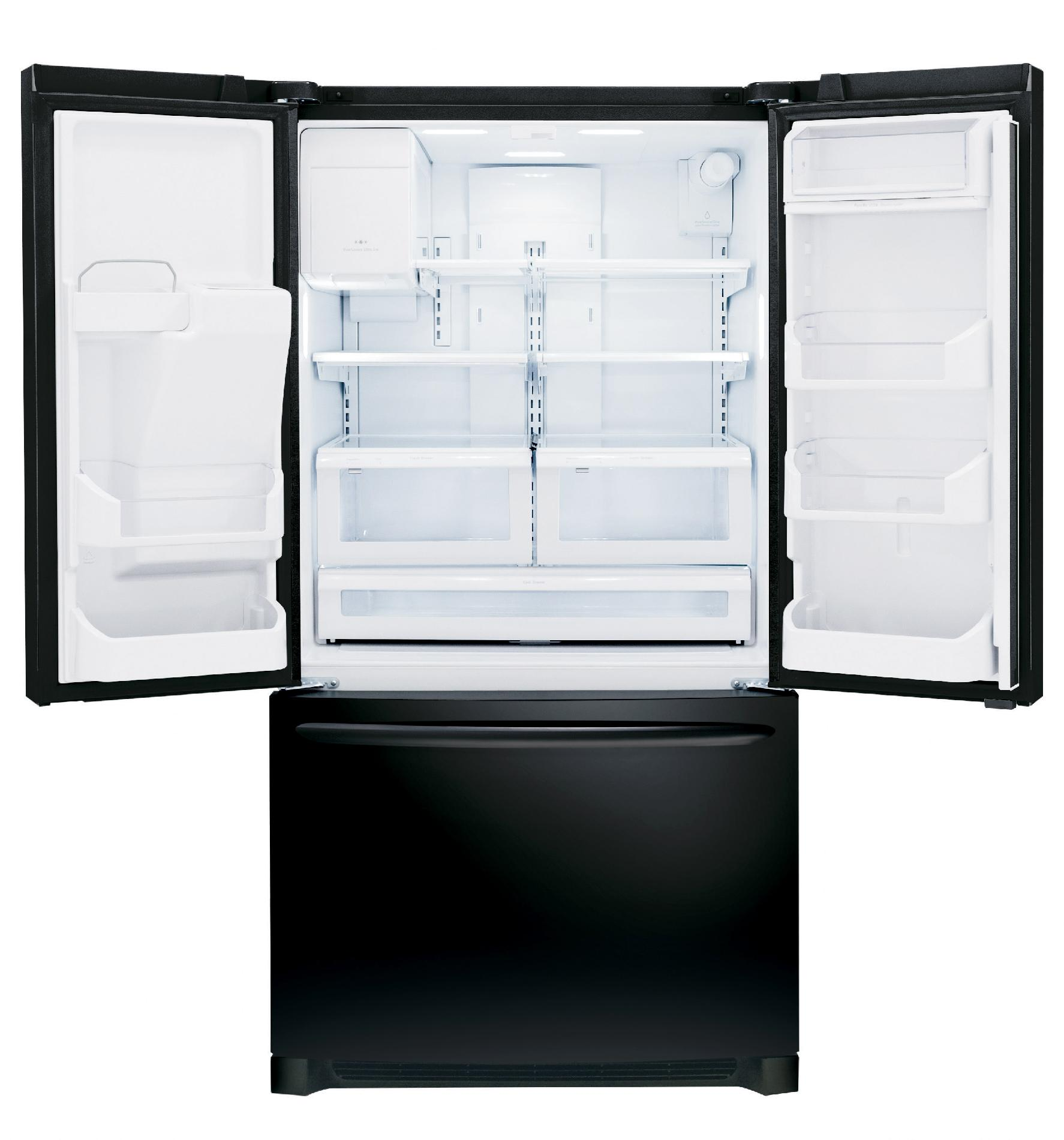 Frigidaire Gallery Gallery 27.9 cu. ft. French Door Refrigerator - Ebony Black