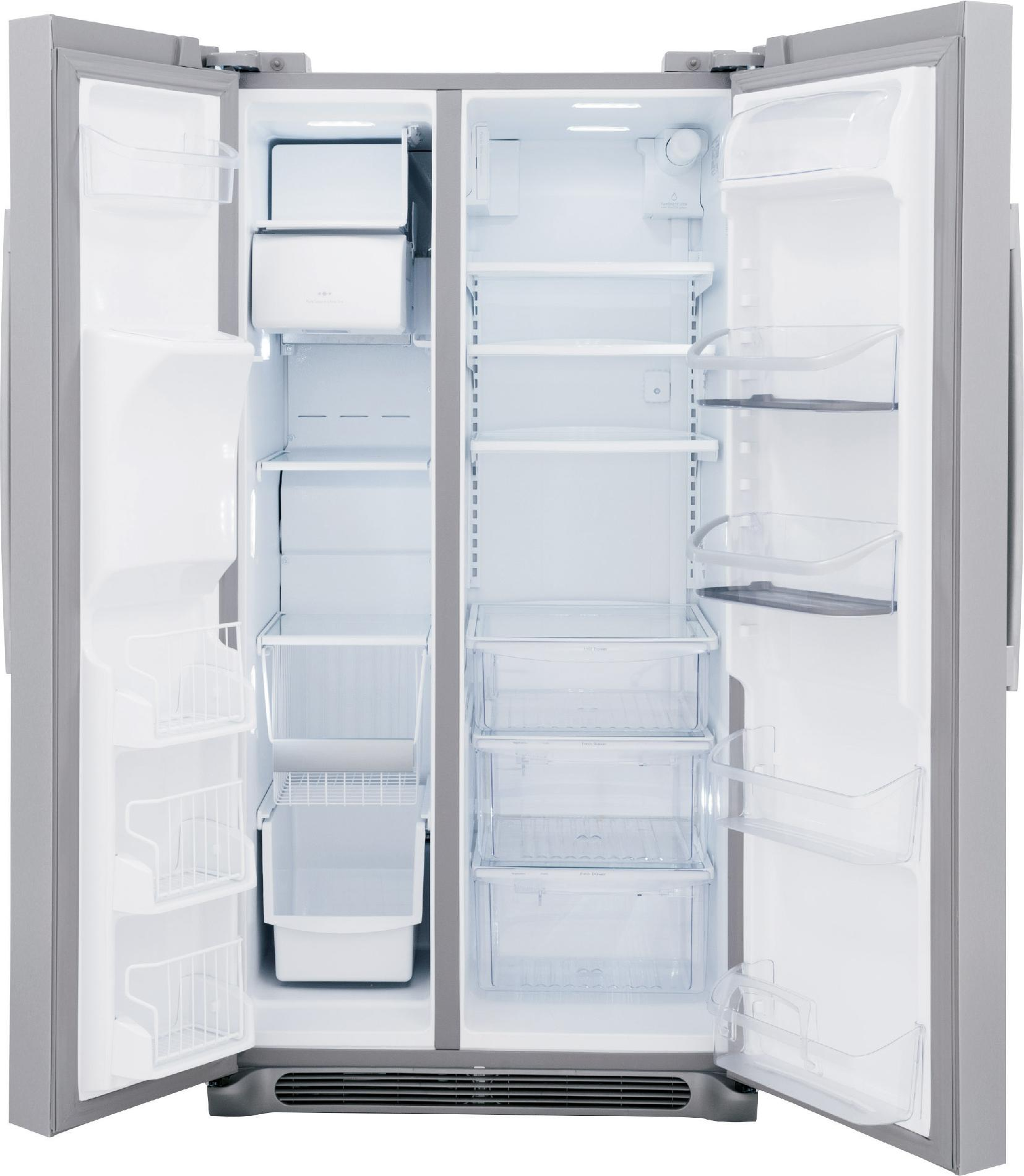 Frigidaire Professional 26.0 cu. ft. Side-by-Side Refrigerator - Stainless Steel