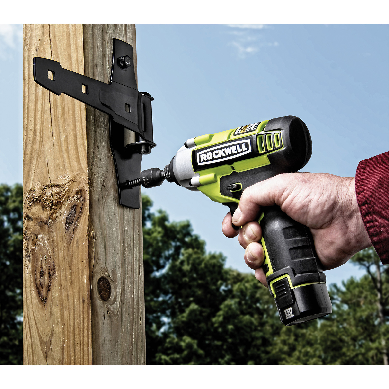 Rockwell 12V LithiumTech(TM) Impact Driver