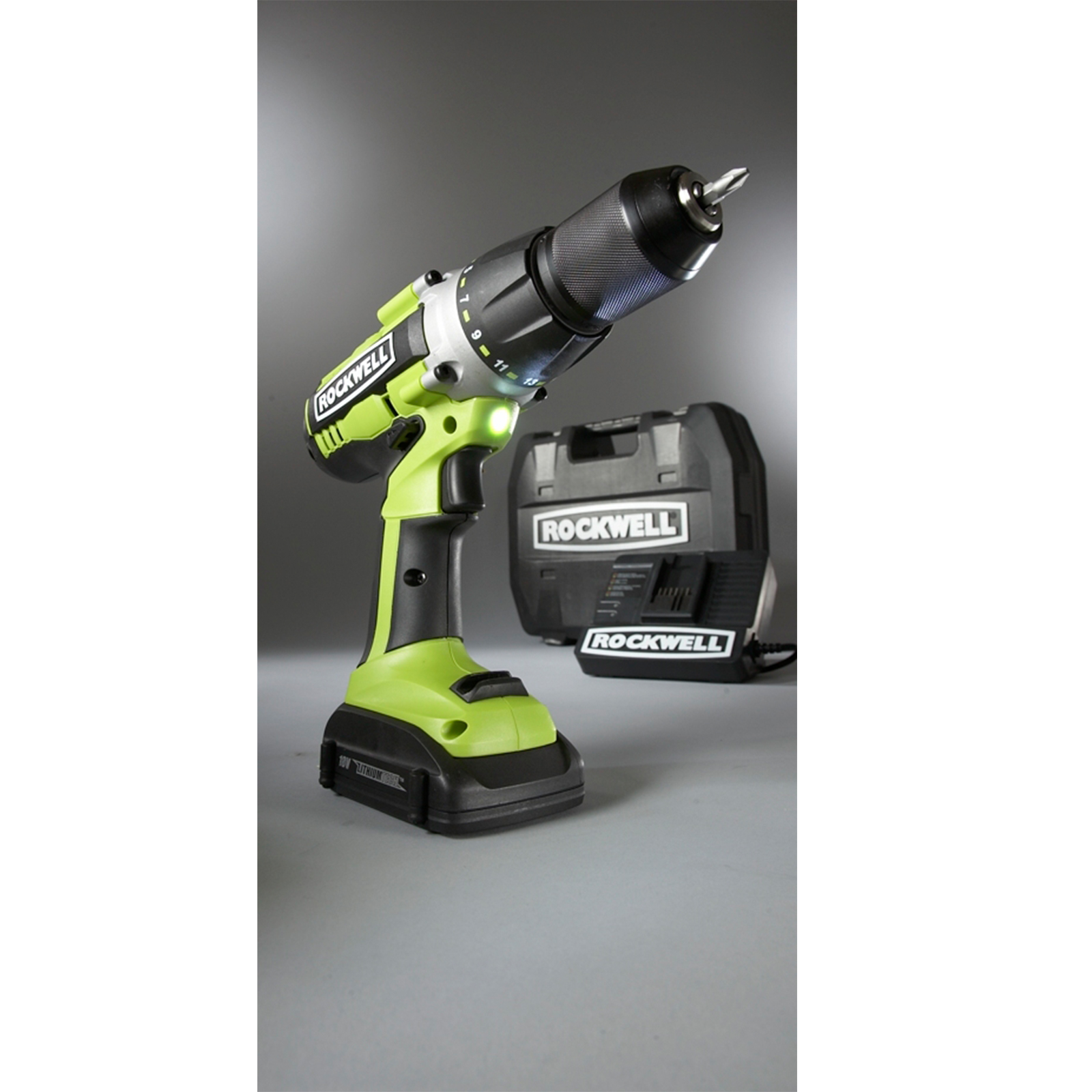 Rockwell 18V ½ in. Lithium Tech™ Drill Driver