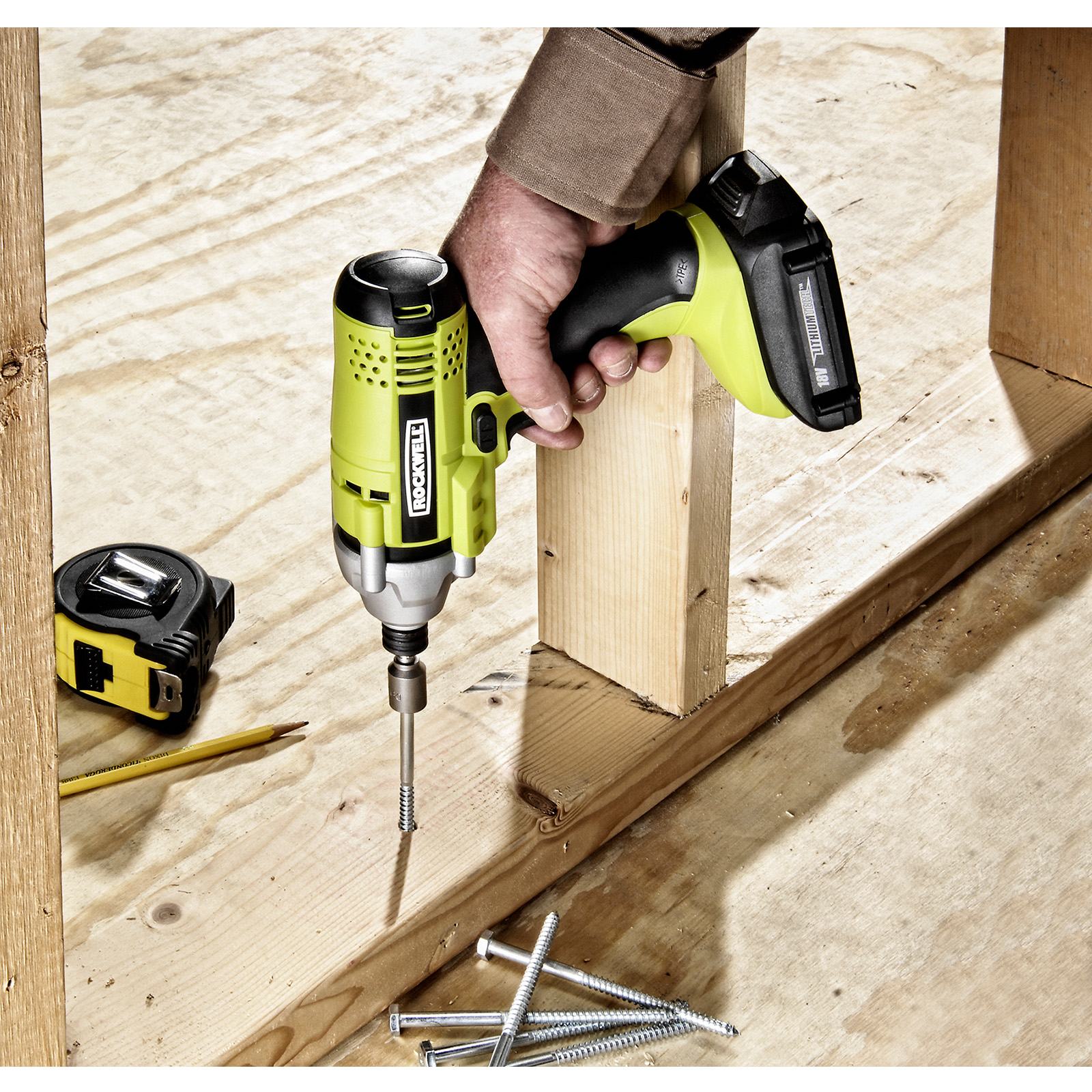 Rockwell 18V ¼ in. Lithium Impact Driver