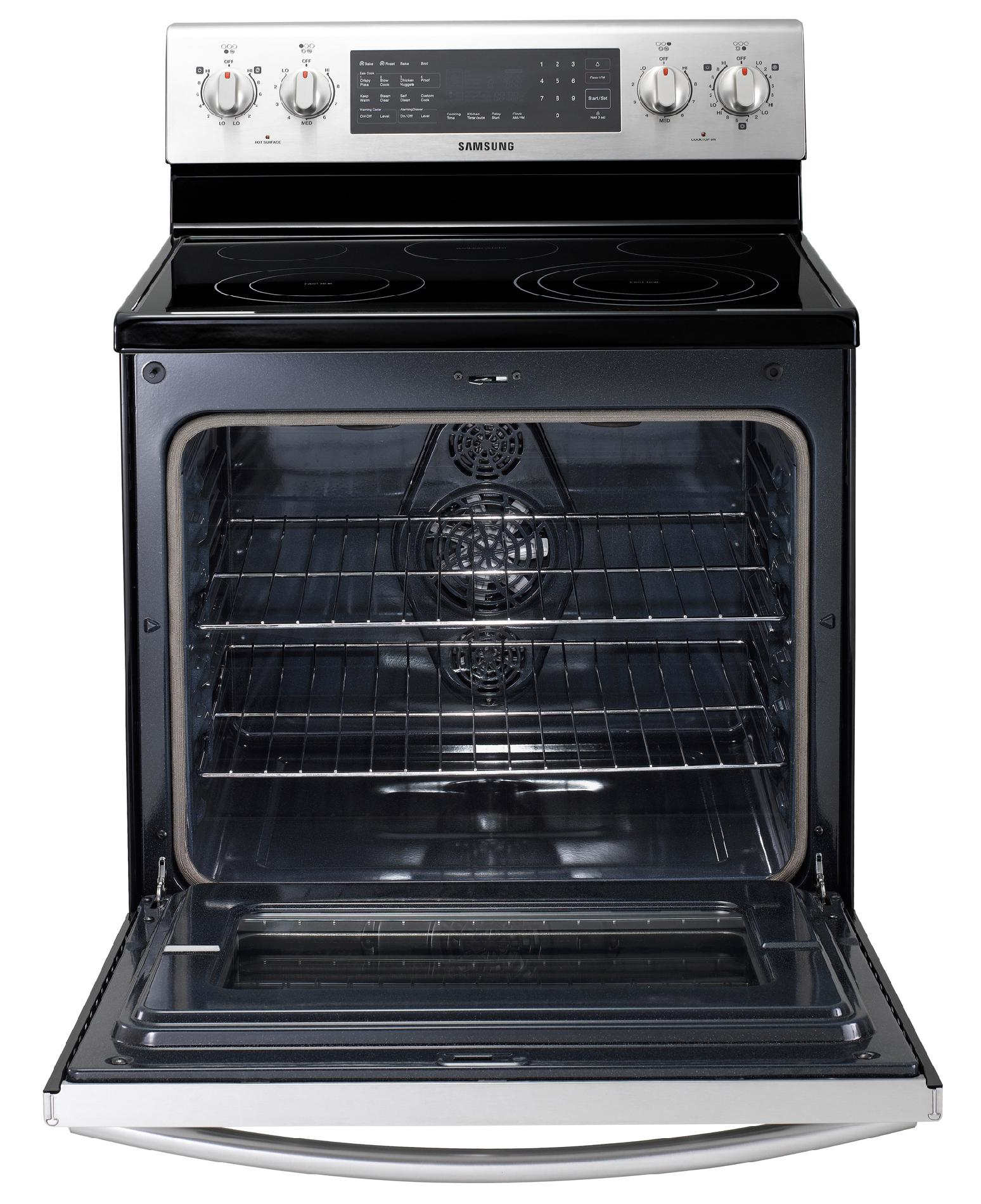 Samsung 5.9 cu. ft. Range with 3-Fan True Convection - Stainless Steel