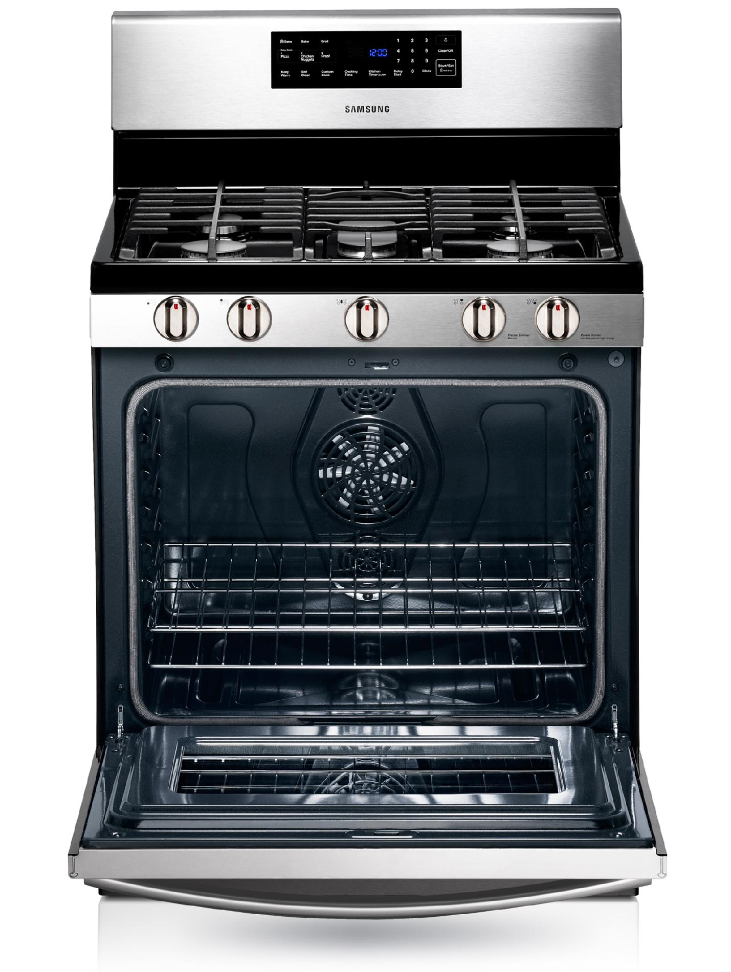Samsung 5.8 cu. ft. Gas Range - Stainless Steel