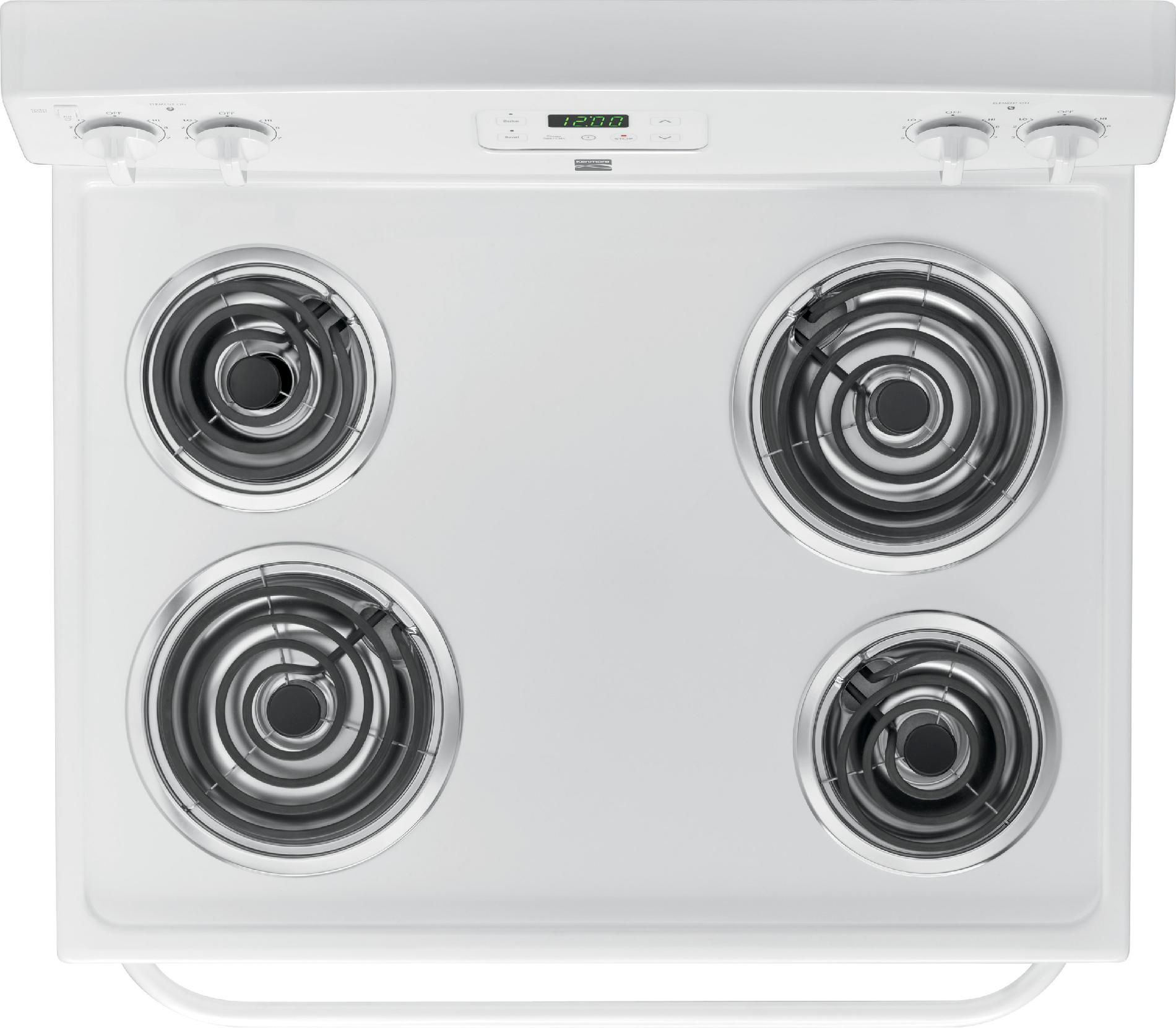 Kenmore 4.9 cu. ft. Electric Range - White